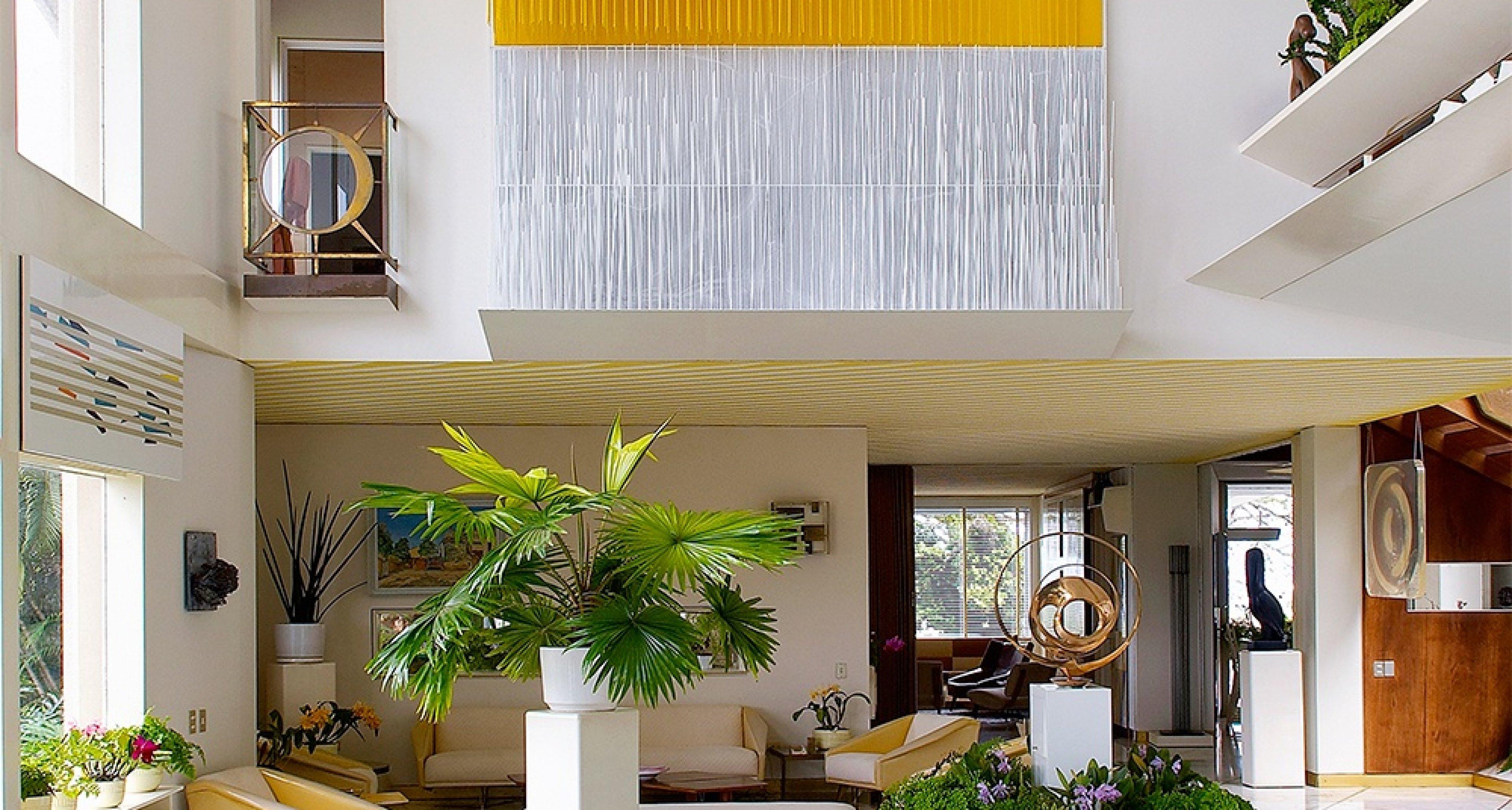 Living room, Villa planchart, Caracas — 1953-57 © Antoine Baralhé Caracas, Anala and Armando Planchart Foundation