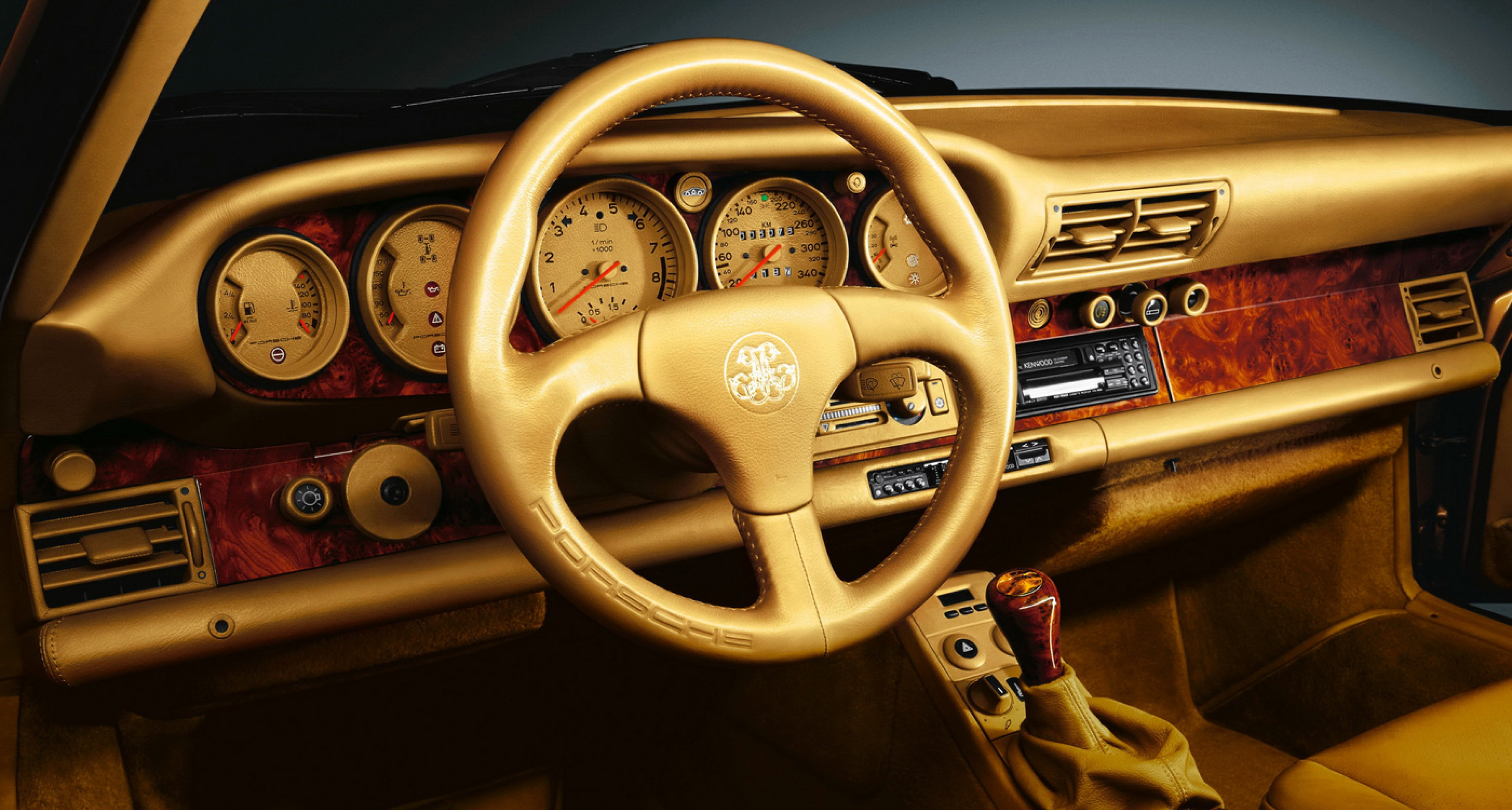 One of seven Porsche 959 that have been personalized for Sheikh Abdul Aziz Khalifa Althani in 1989.