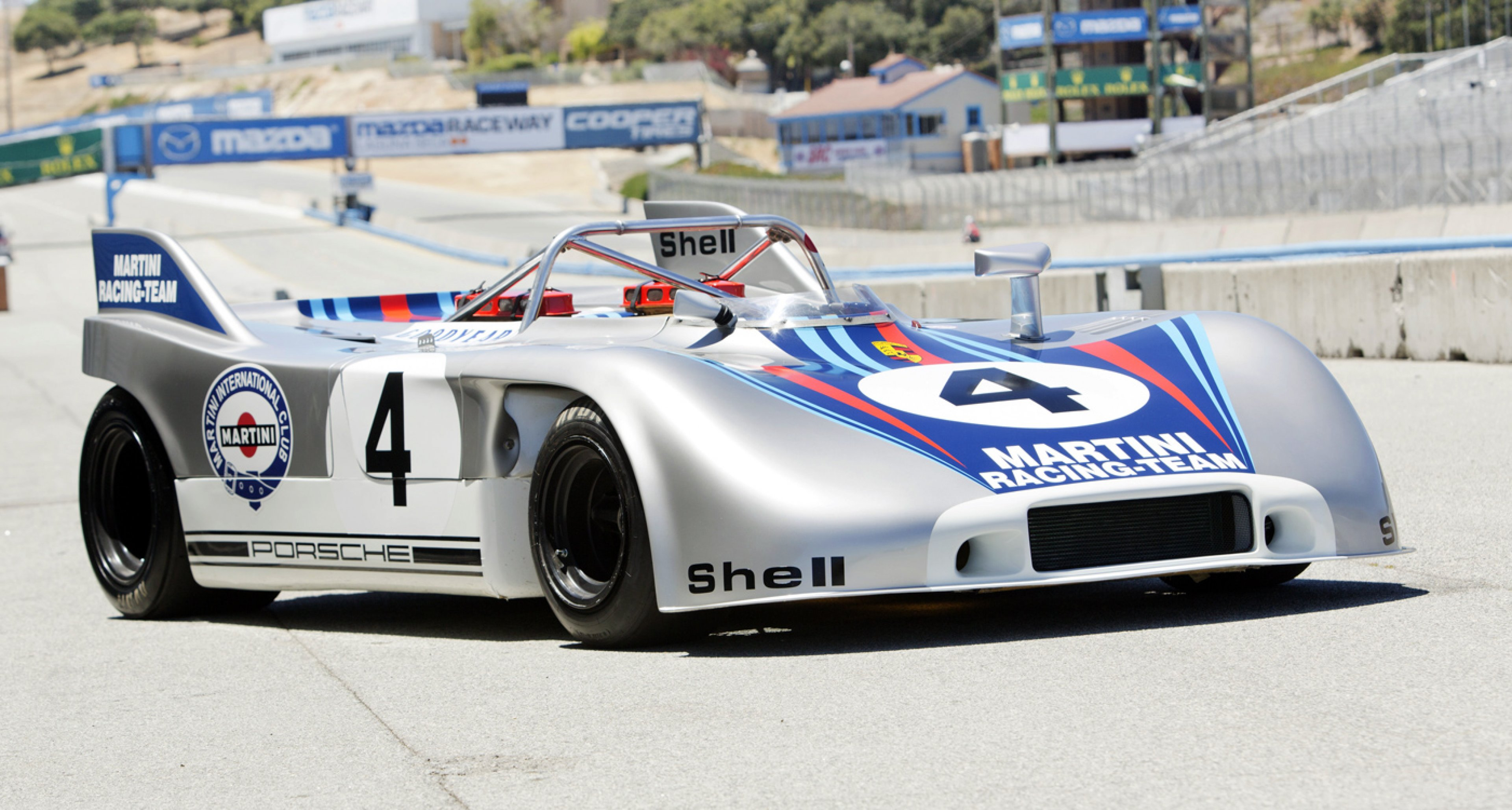 The Ex-works Weissach development and test 1970 Porsche 908/03 Spyder to be auctioned at Bonhams Quail Lodge sale