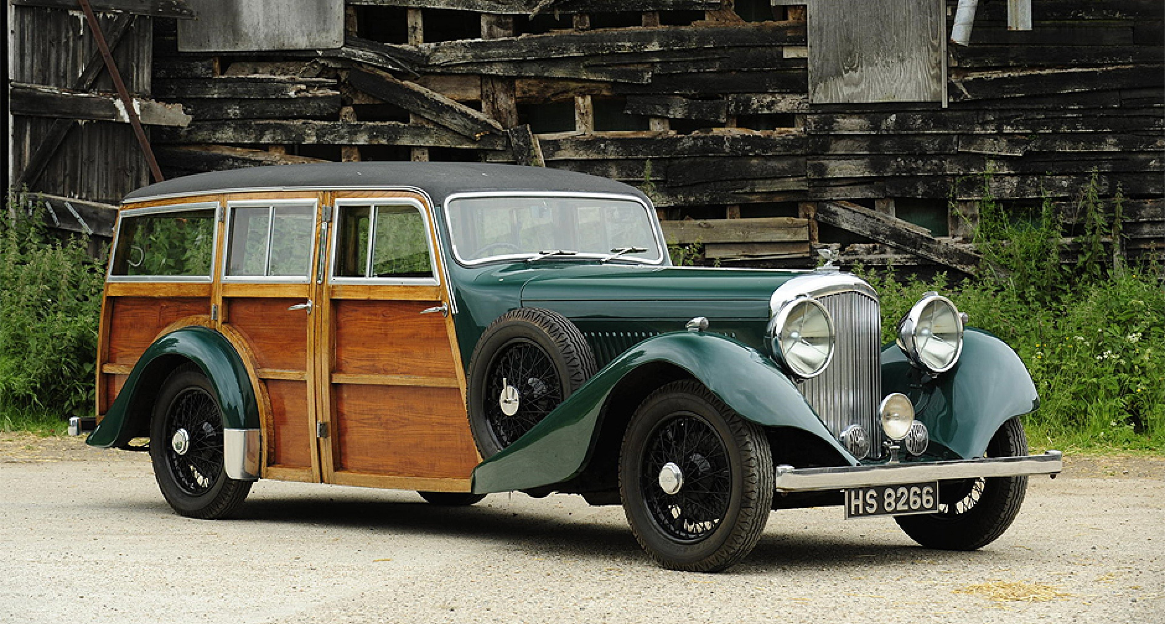 1935 Bentley 3½ Litre Shooting Brake (GBP 70,000 - 90,000)