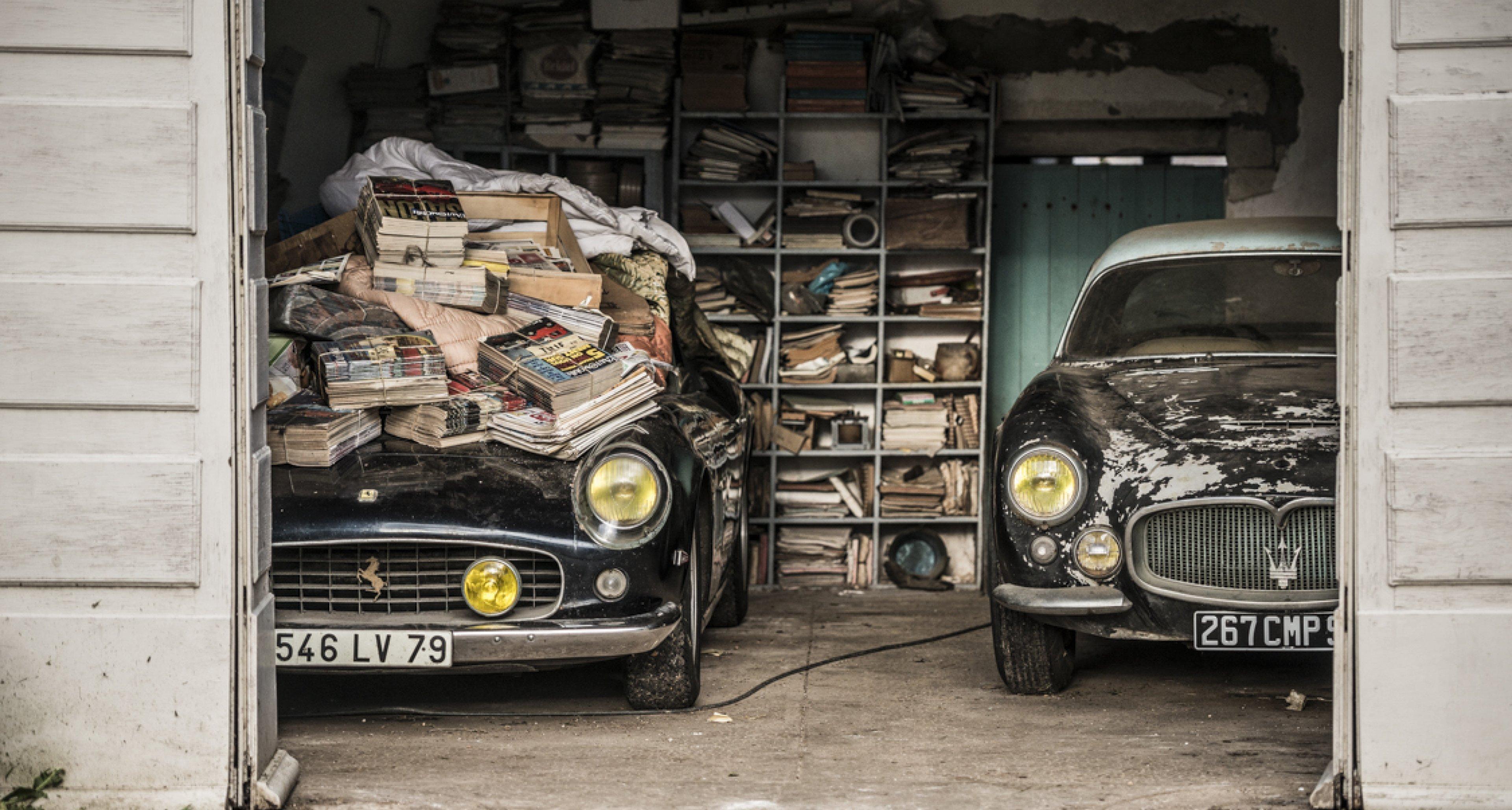 Exclusive Treasure Trove Of 60 Barn Finds Includes Lost Ferrari 250 Gt Swb California Spider Classic Driver Magazine