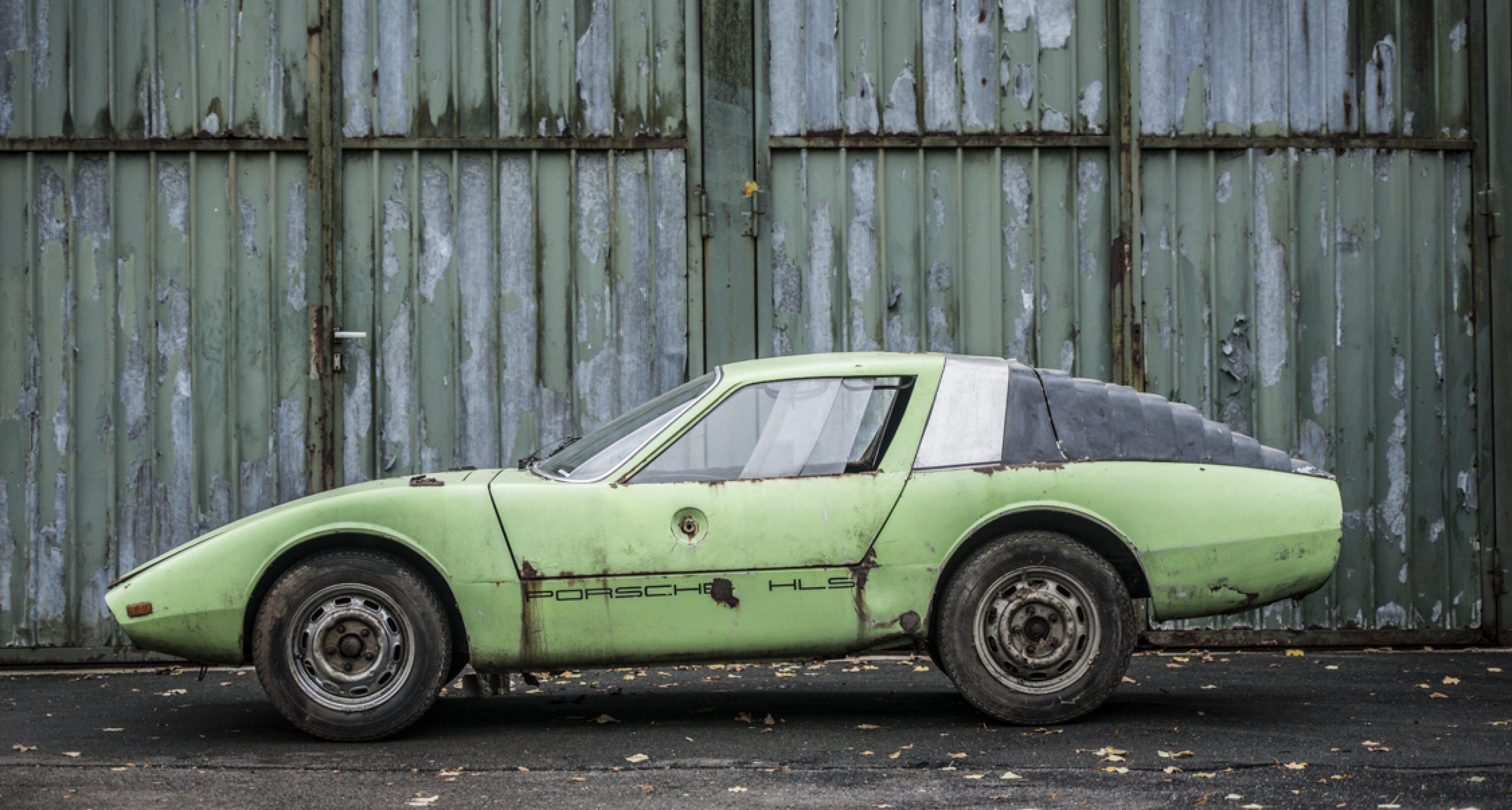 """Porsche 911 HLS """"Klappdach"""" Rennsport Coupé"""