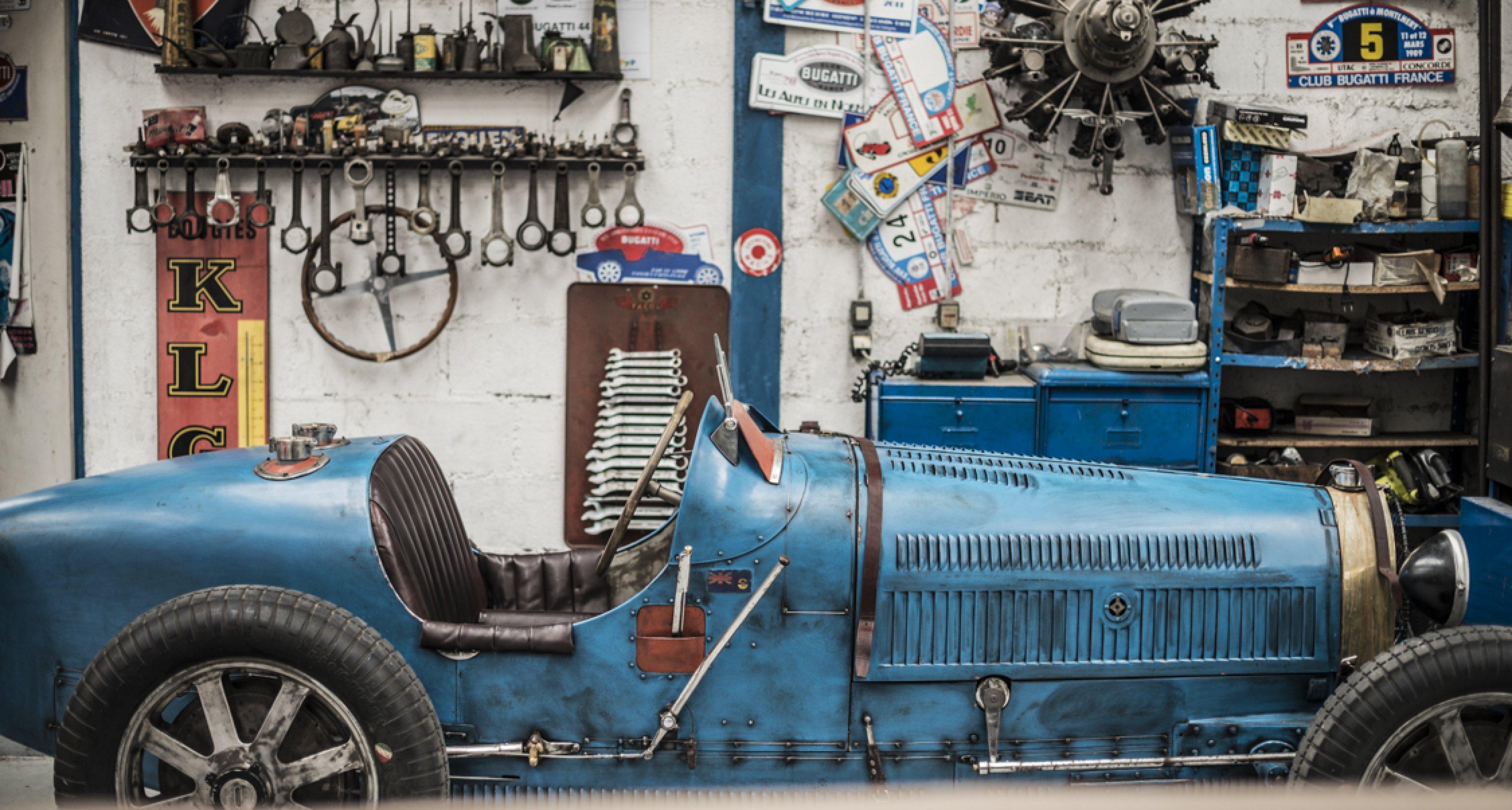 at garage novo in france ettore bugatti 39 s dream lives on classic driver magazine. Black Bedroom Furniture Sets. Home Design Ideas