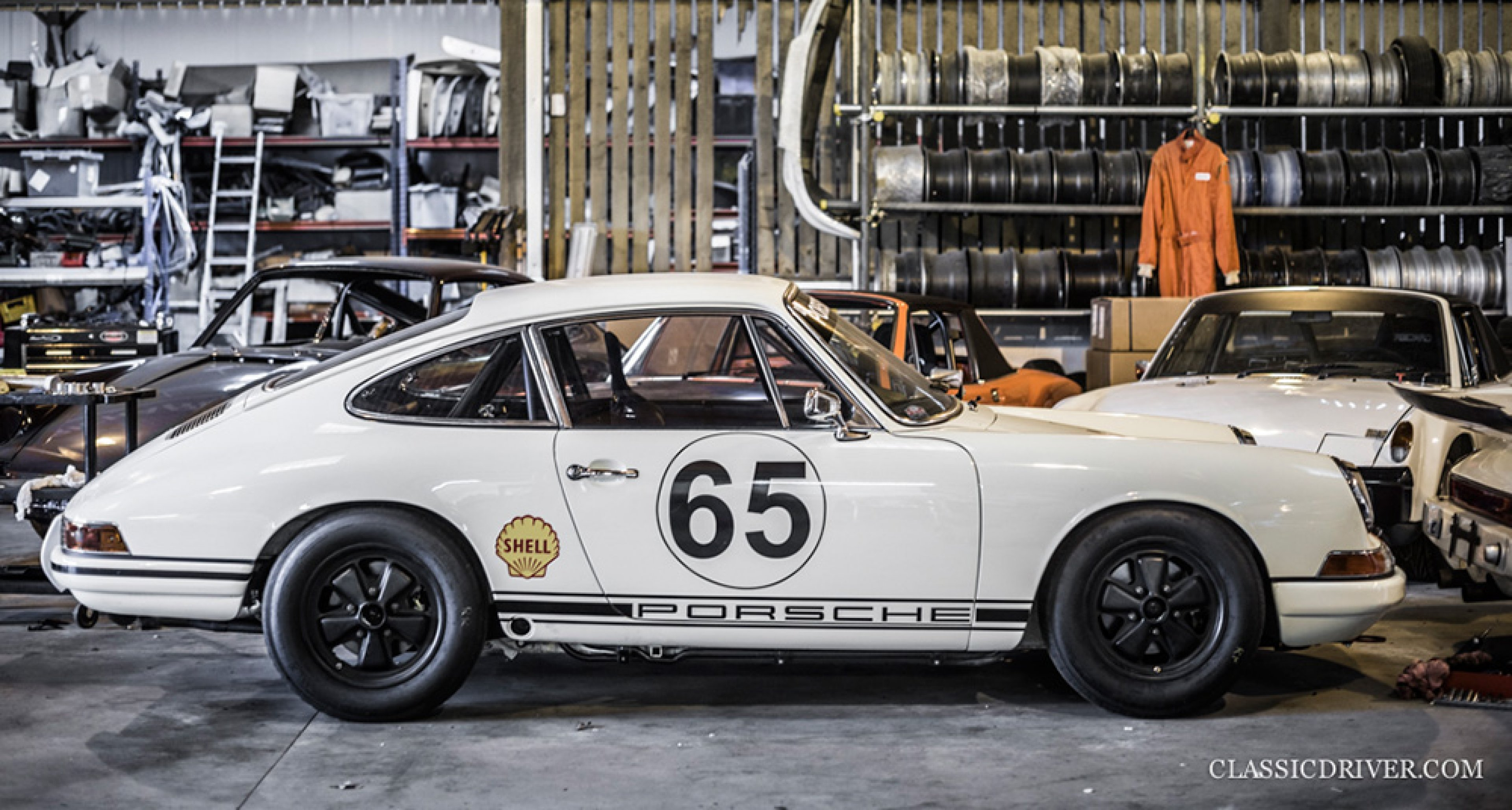 At Historika Classic Racing Porsche 911s Get Prepped To