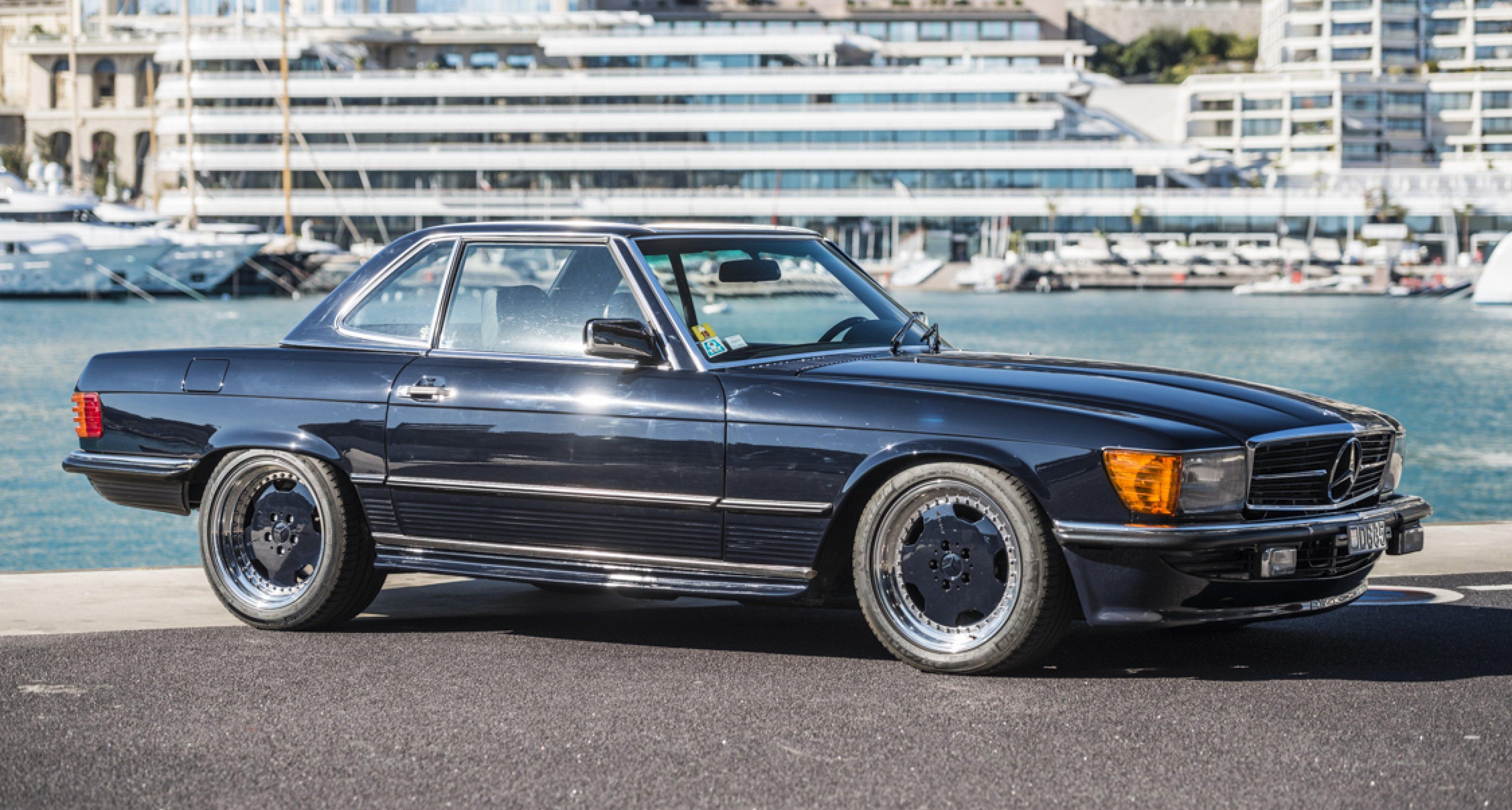 Dieser Mercedes 560 Sl 6 0 Amg Vertreibt Den Businessman S Blues
