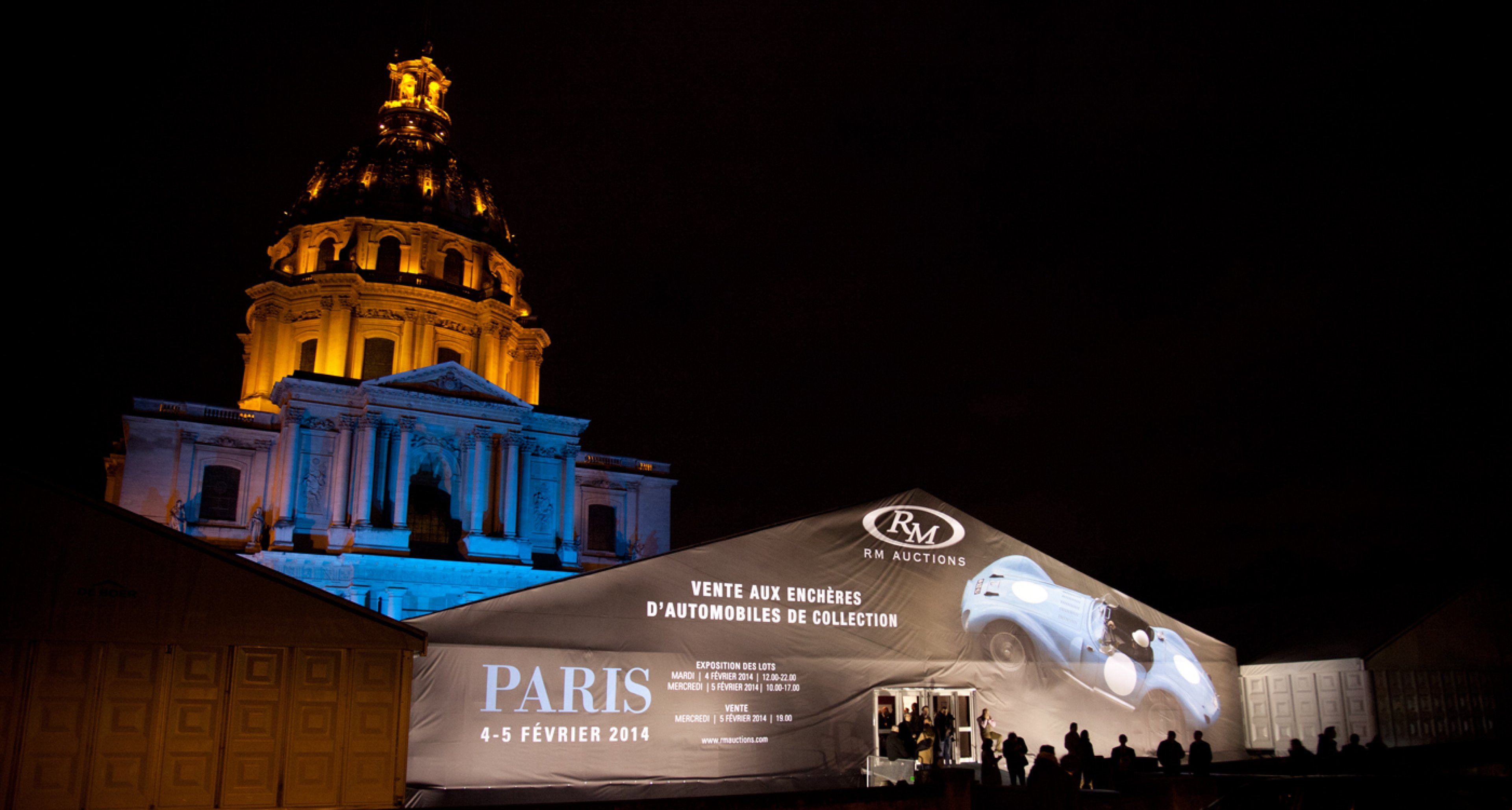 RM Auction 2014 at Place Vauban, Paris
