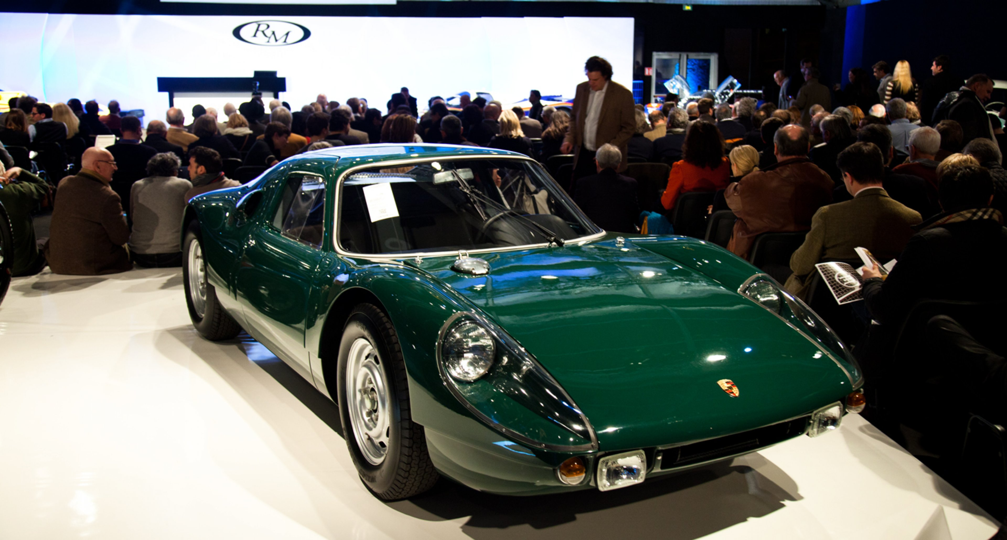 Porsche 904 Carrera GTS (sold for €1,288,000) at RM Auctions Retromobile sale 2014