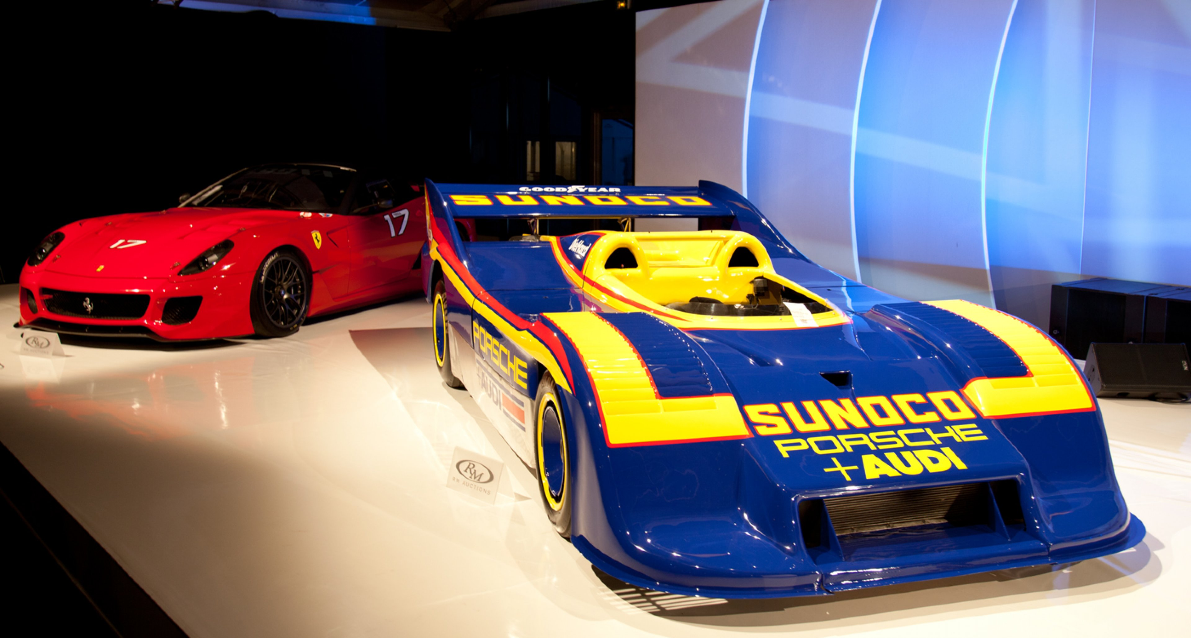 2010 Ferrari 599XX and 1973 Porsche 917/30 Can-Am Spyder at RM Auctions' 2014 Retromobile sale
