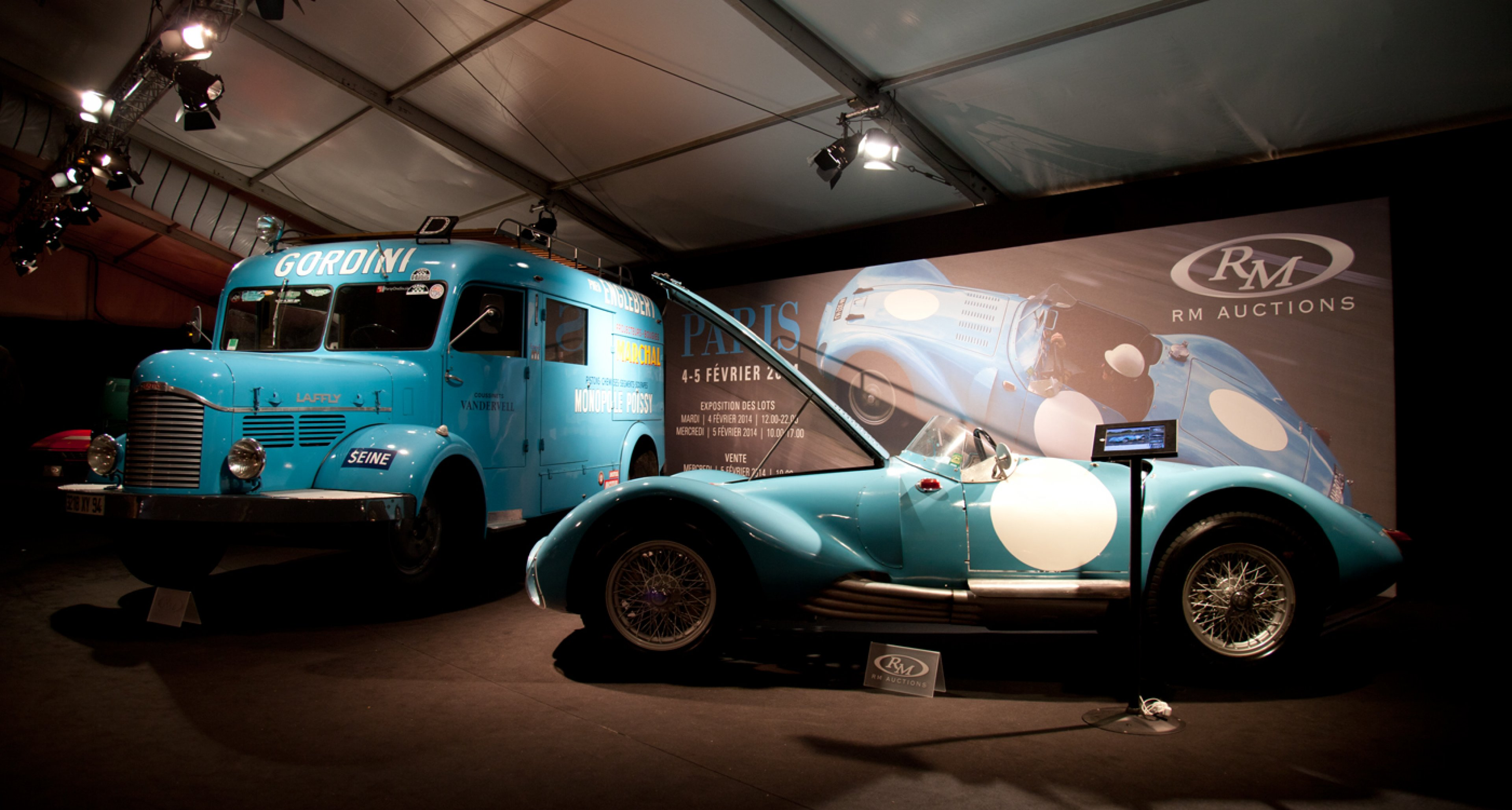 1953 Gordini Type 24 S 1973 Porsche 917/30 Can-Am Spyder at RM Auctions' 2014 Retromobile sale
