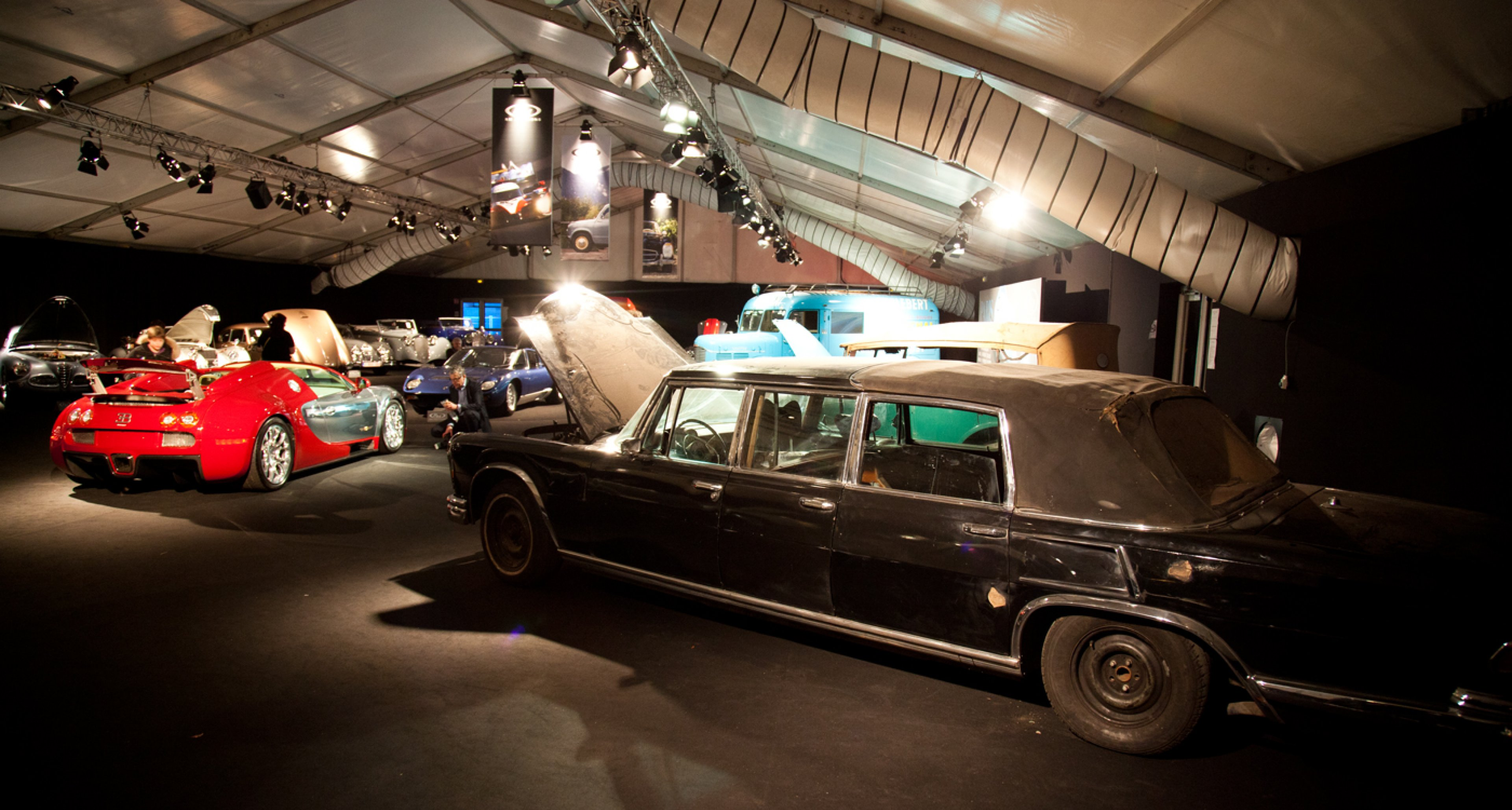 Surprise of the night: 1971 Mercedes-Benz 600 Pullman Landaulet (sold for €537,600)