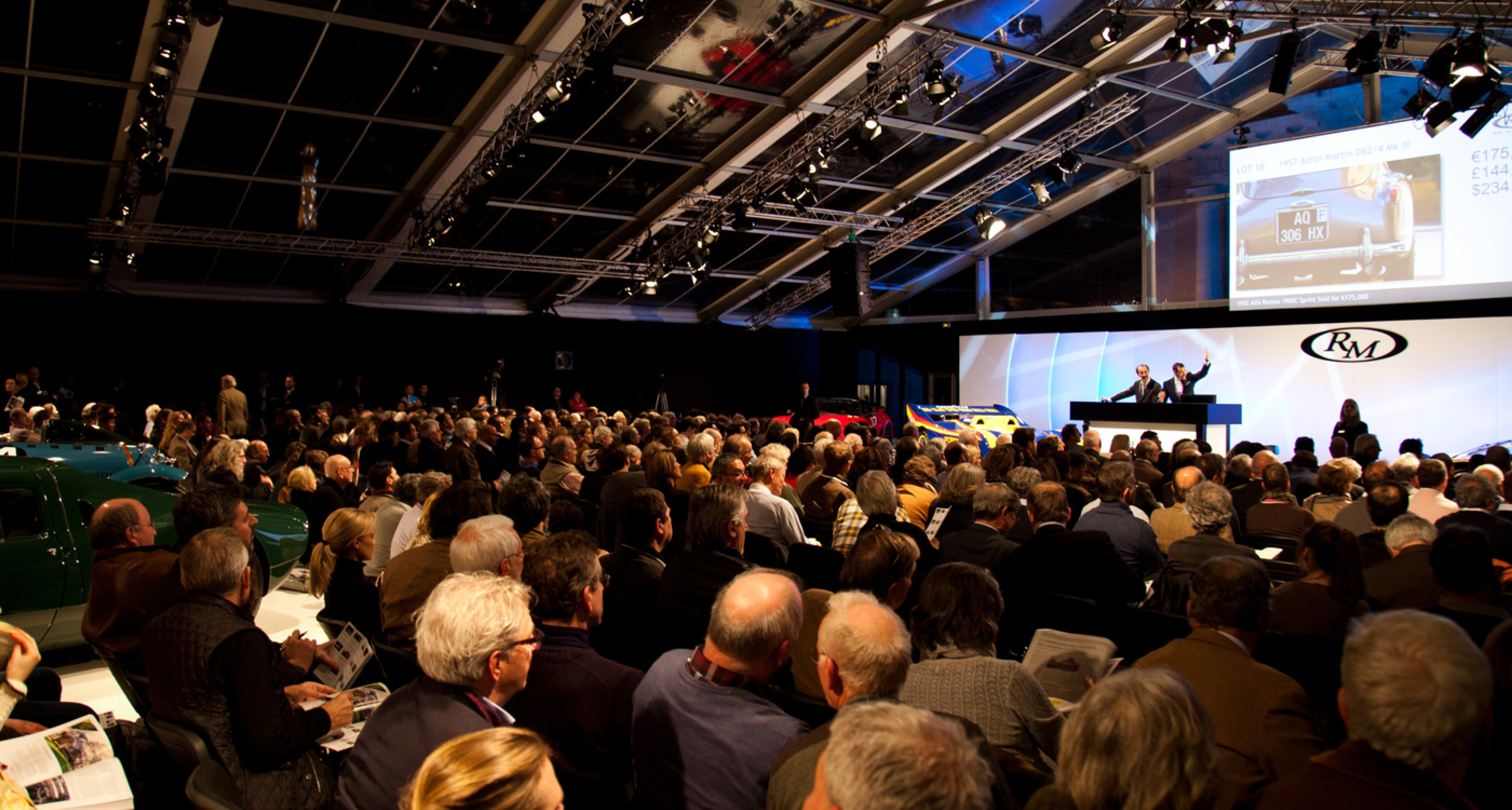 RM Auctions at the 2014 Retromobile