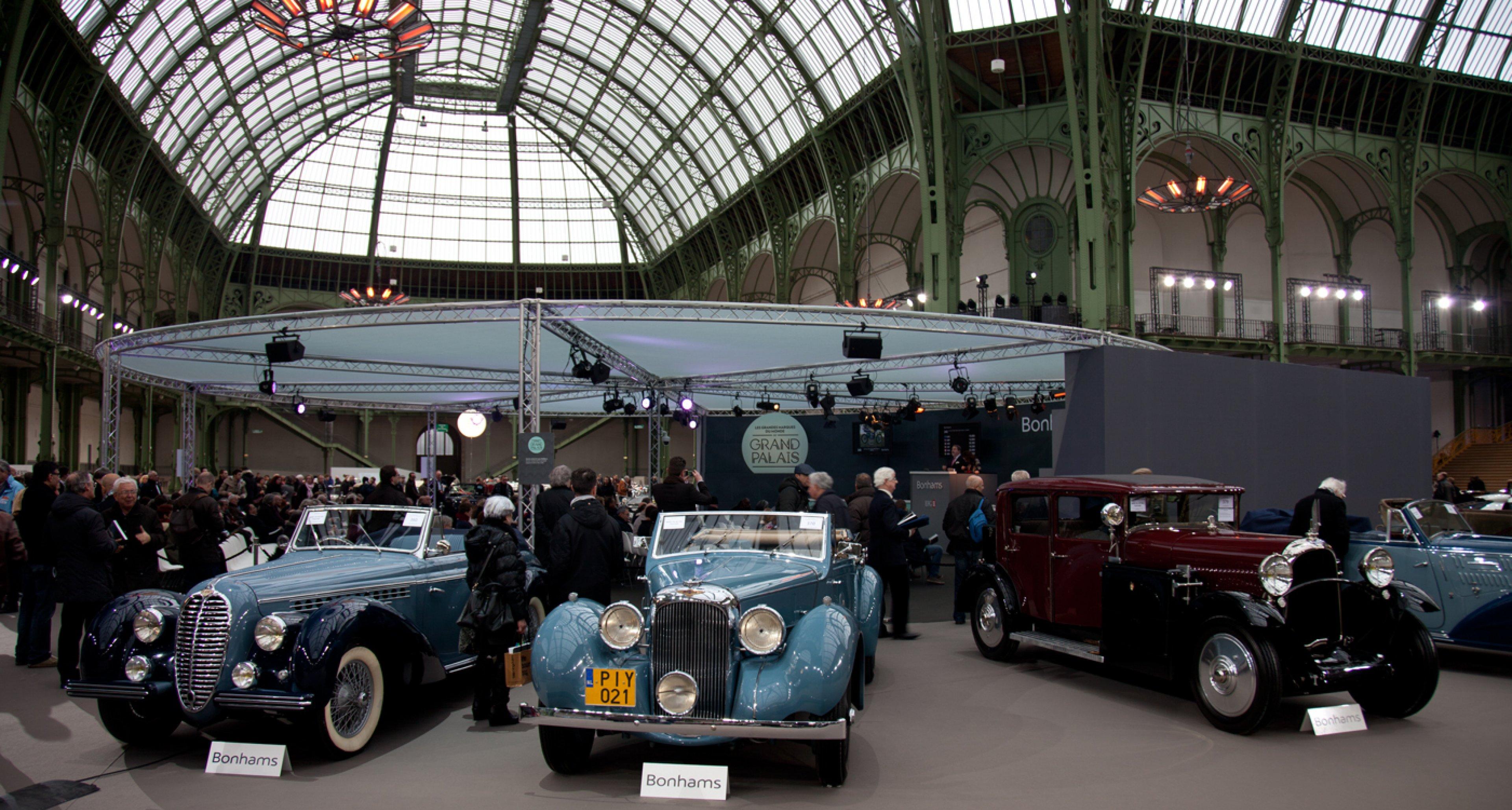 Classics at Bonhams' 2014 Retromobile auction.