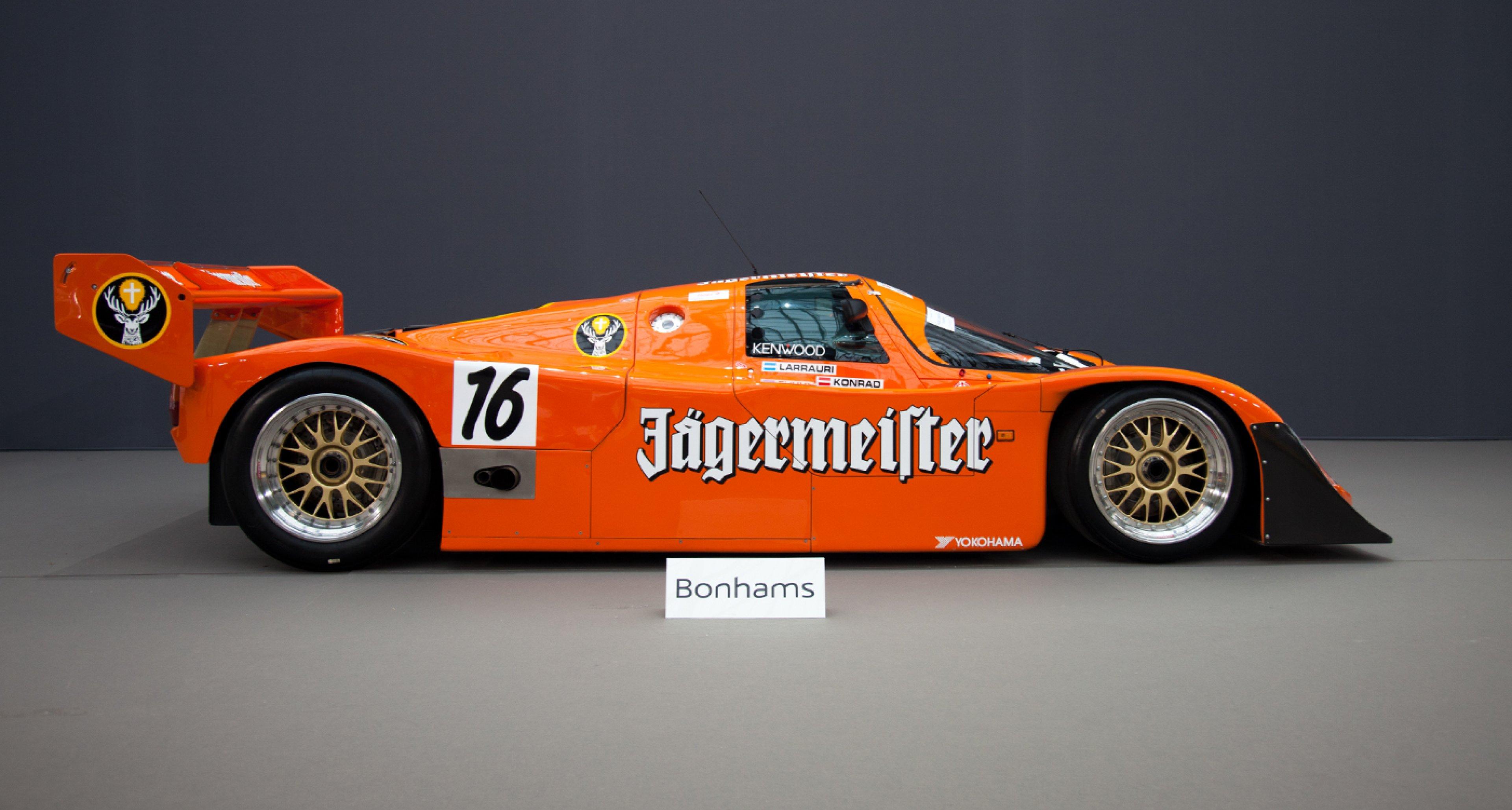 1989 Porsche 962 C Jägermeister at Bonhams 2014 Retromobile sale.