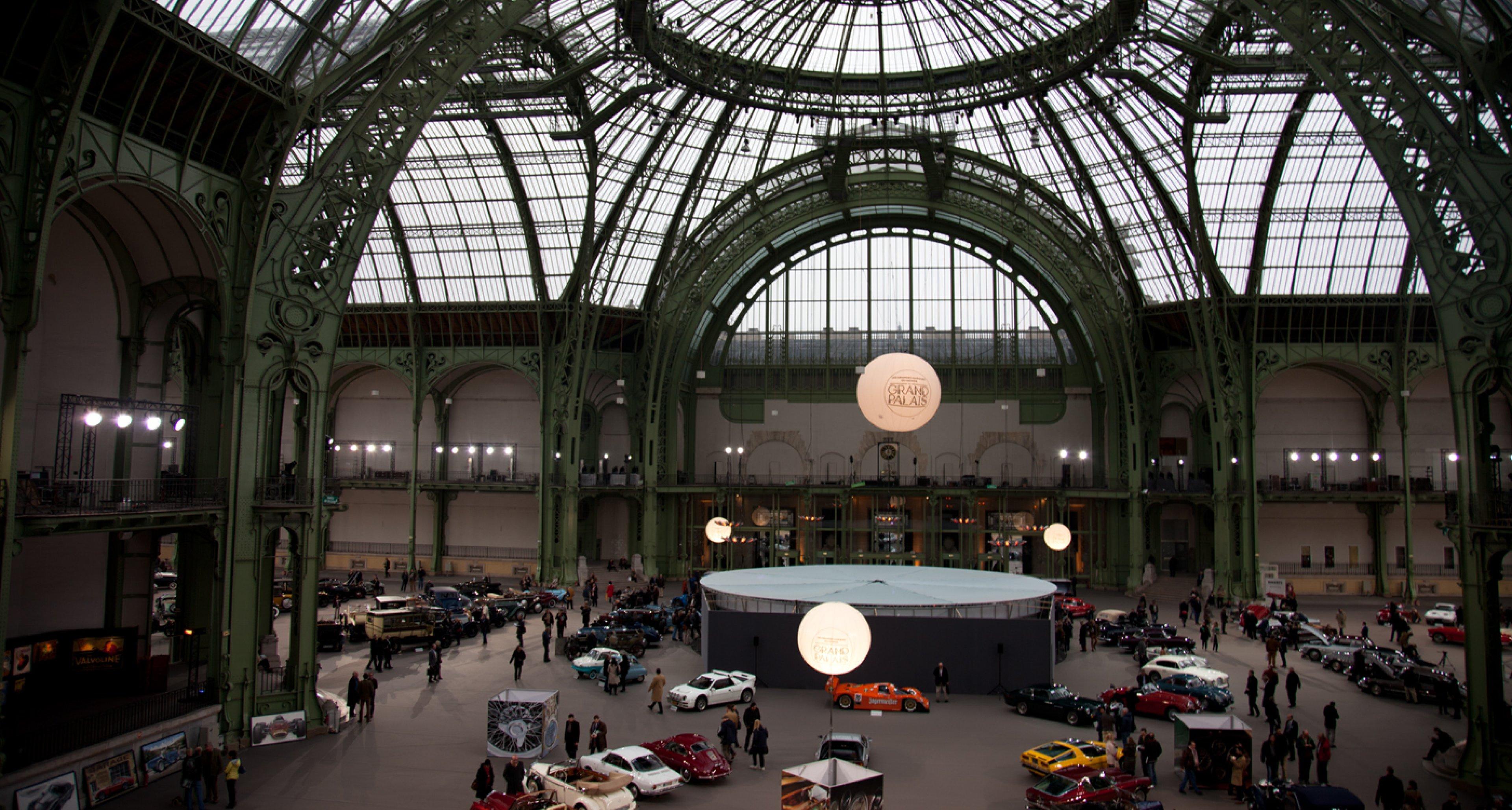 Bonhams 2014 Retromobile sale at Grand Palais, Paris.