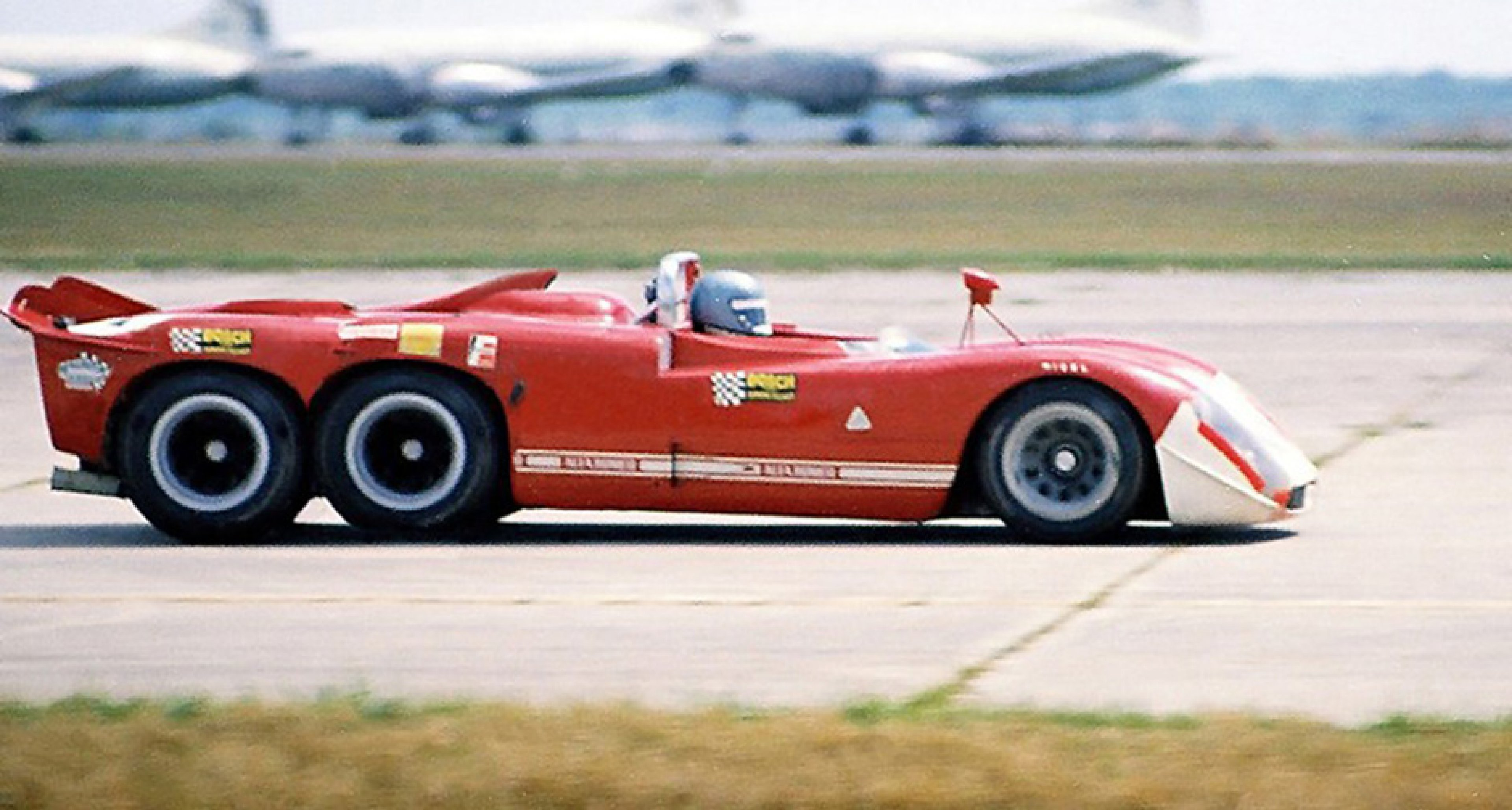 The mythical Alfa Romeo T33/6/12 created as an April Fools prank