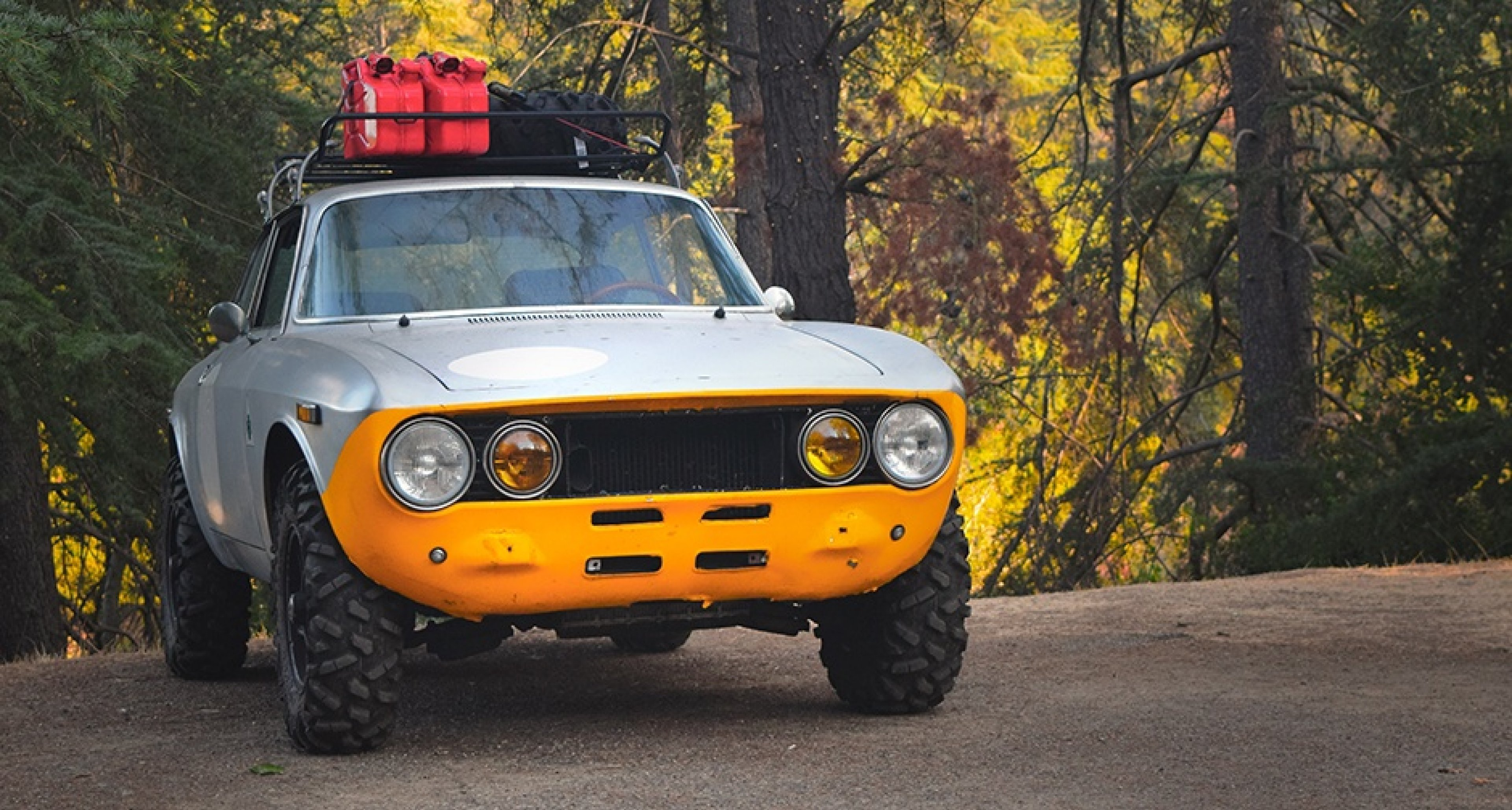 This Off Road Alfa Romeo Gtv Is Ready For Anything