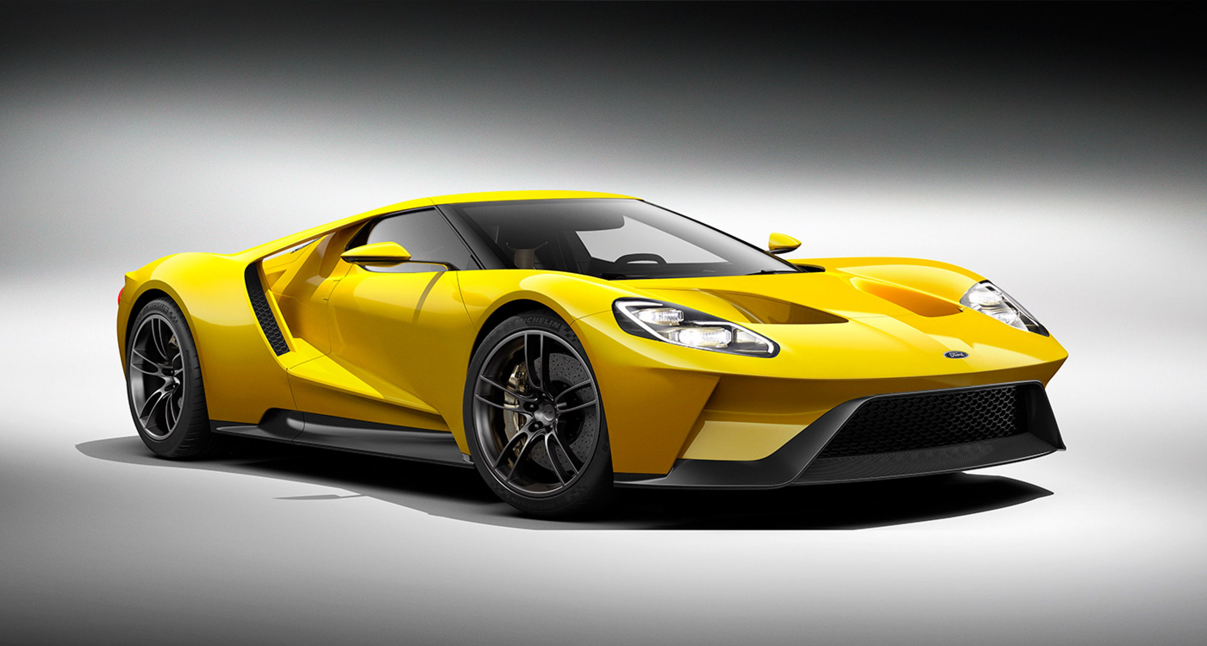 Shock New V Engined Ford Gt Revealed At Detroit Motor Show Classic Driver Magazine