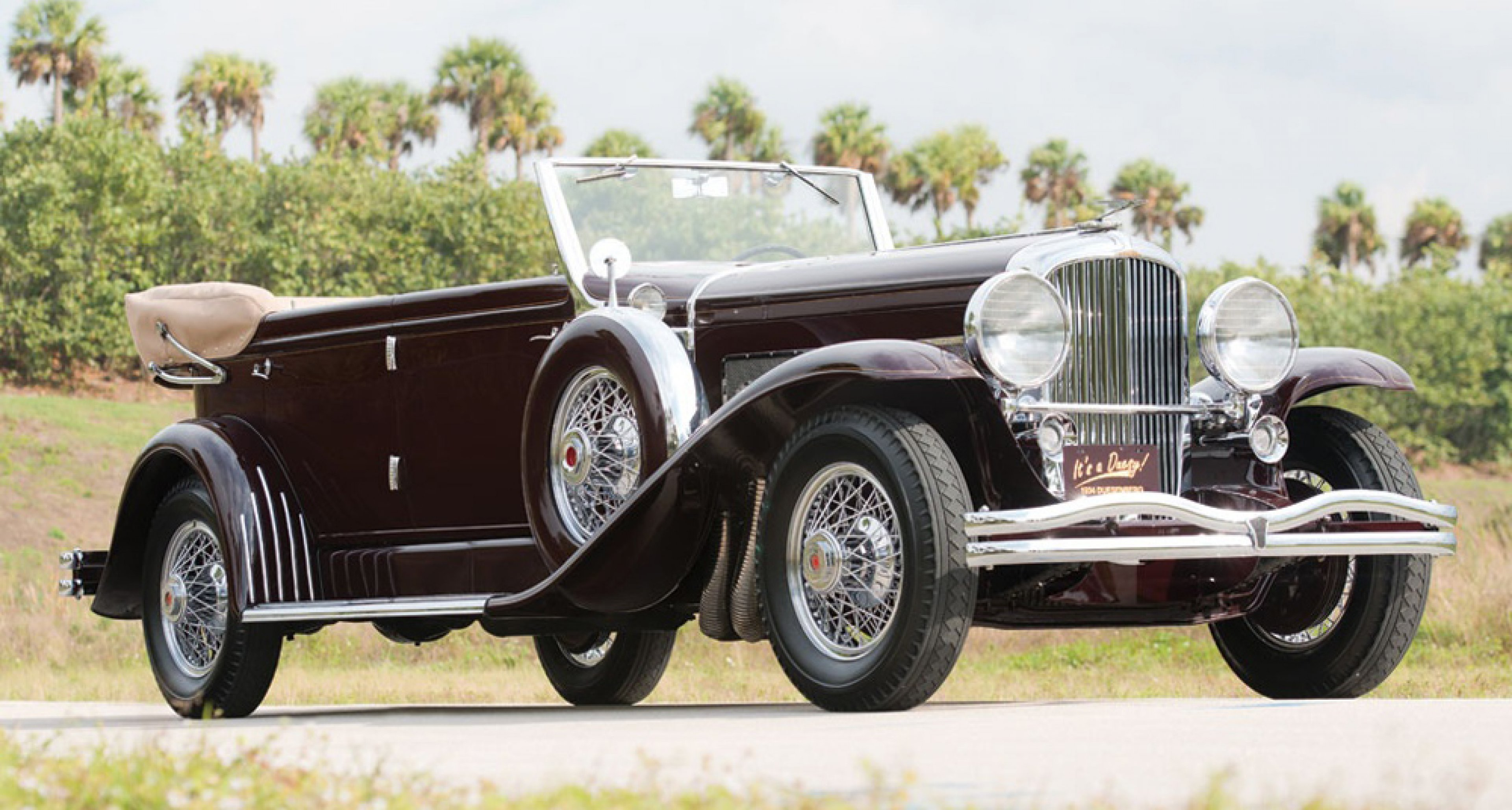 This 1934 Duesenberg SJ Convertible sold for $1.57m