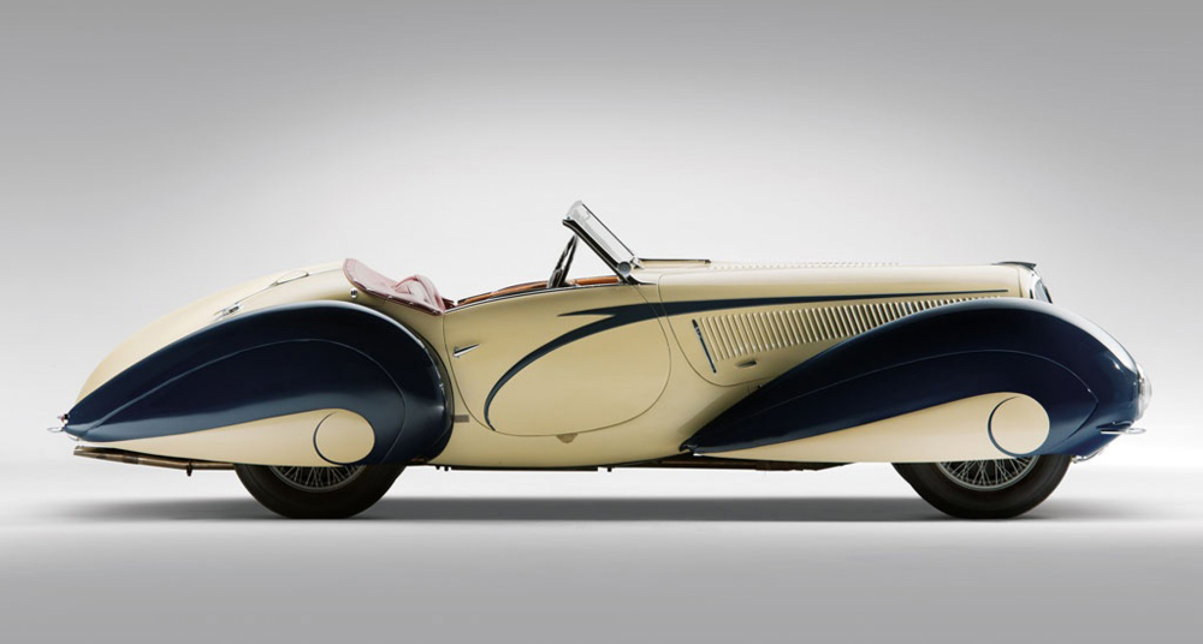 The 1935 Delahaye Torpedo Roadster bodied by Figoni et Falaschi, sold for $6.6m