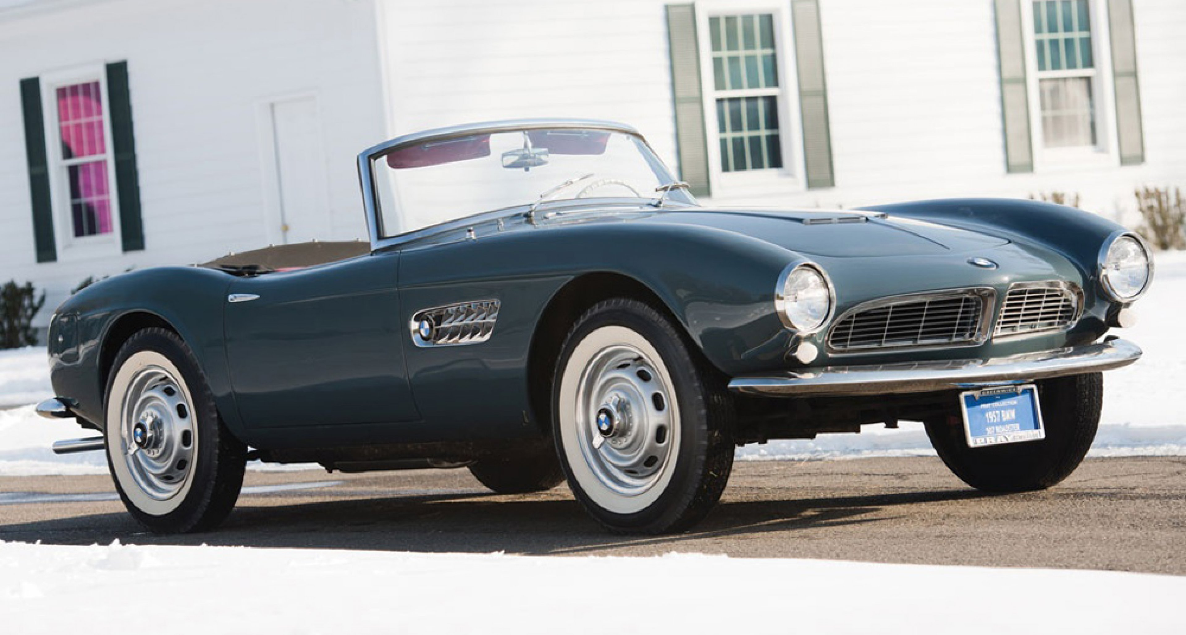 BMW 507 Series II Roadster, sold for an estimate-shattering $2.42m