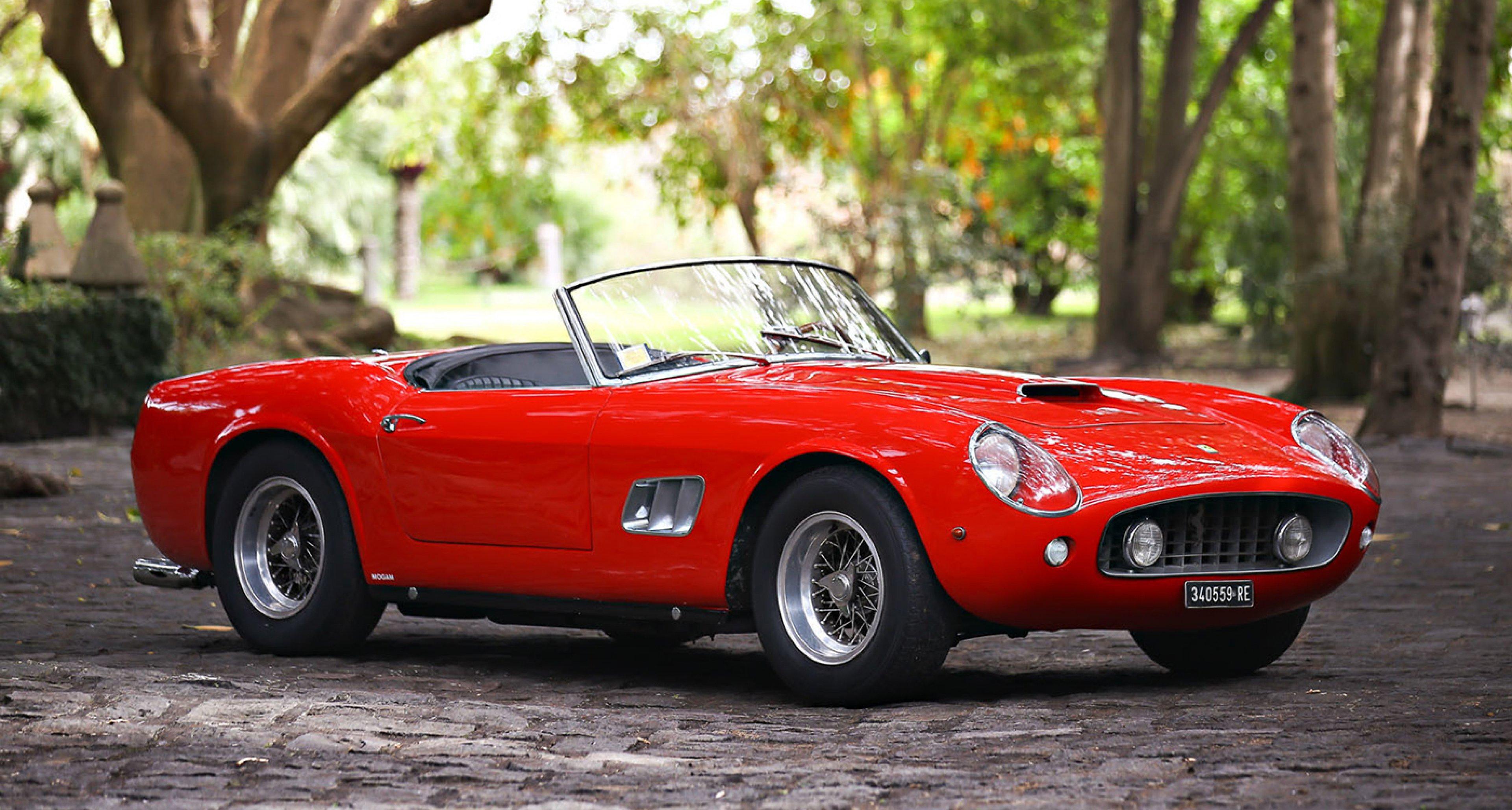 Ferrari California Spider Ist Bestseller Der Amelia Island Sales