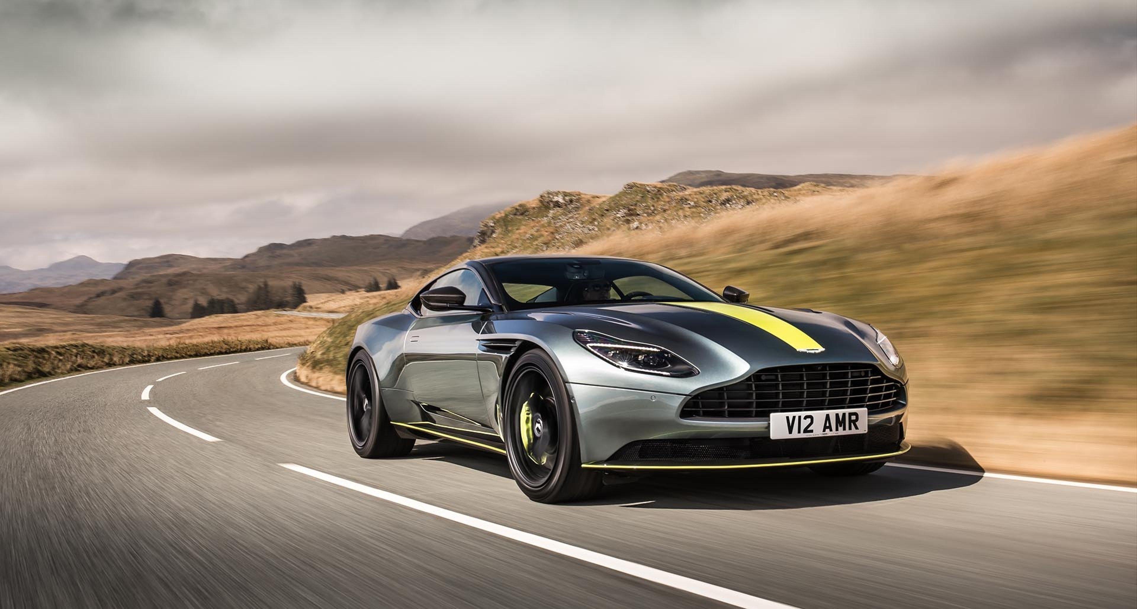 Aston Martins Neuer Db11 Amr Debütiert In Der Grünen Hölle Classic Driver Magazine