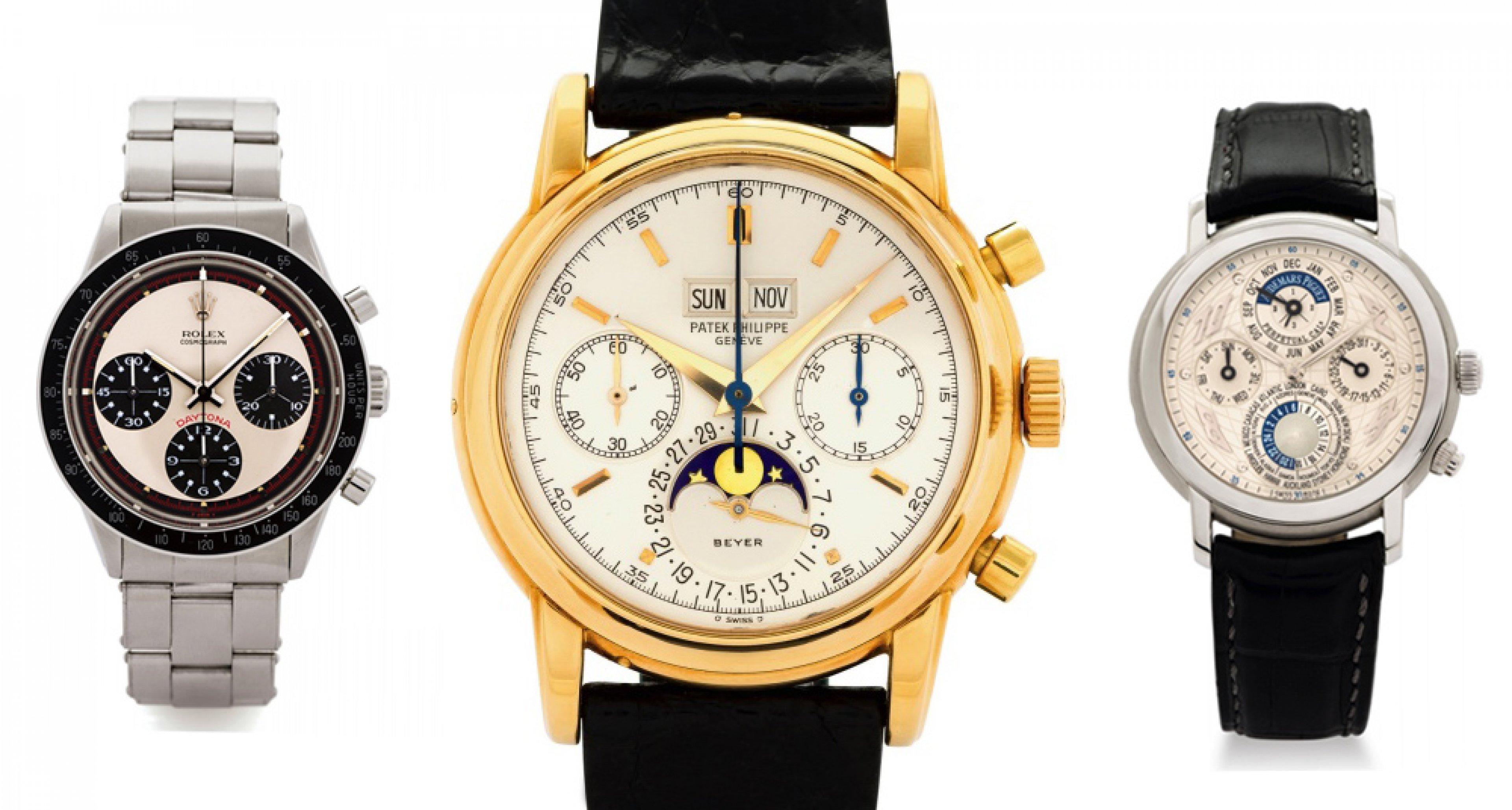 "Antiquorum ""Important Modern & Vintage Timepieces"" Geneva 2014"