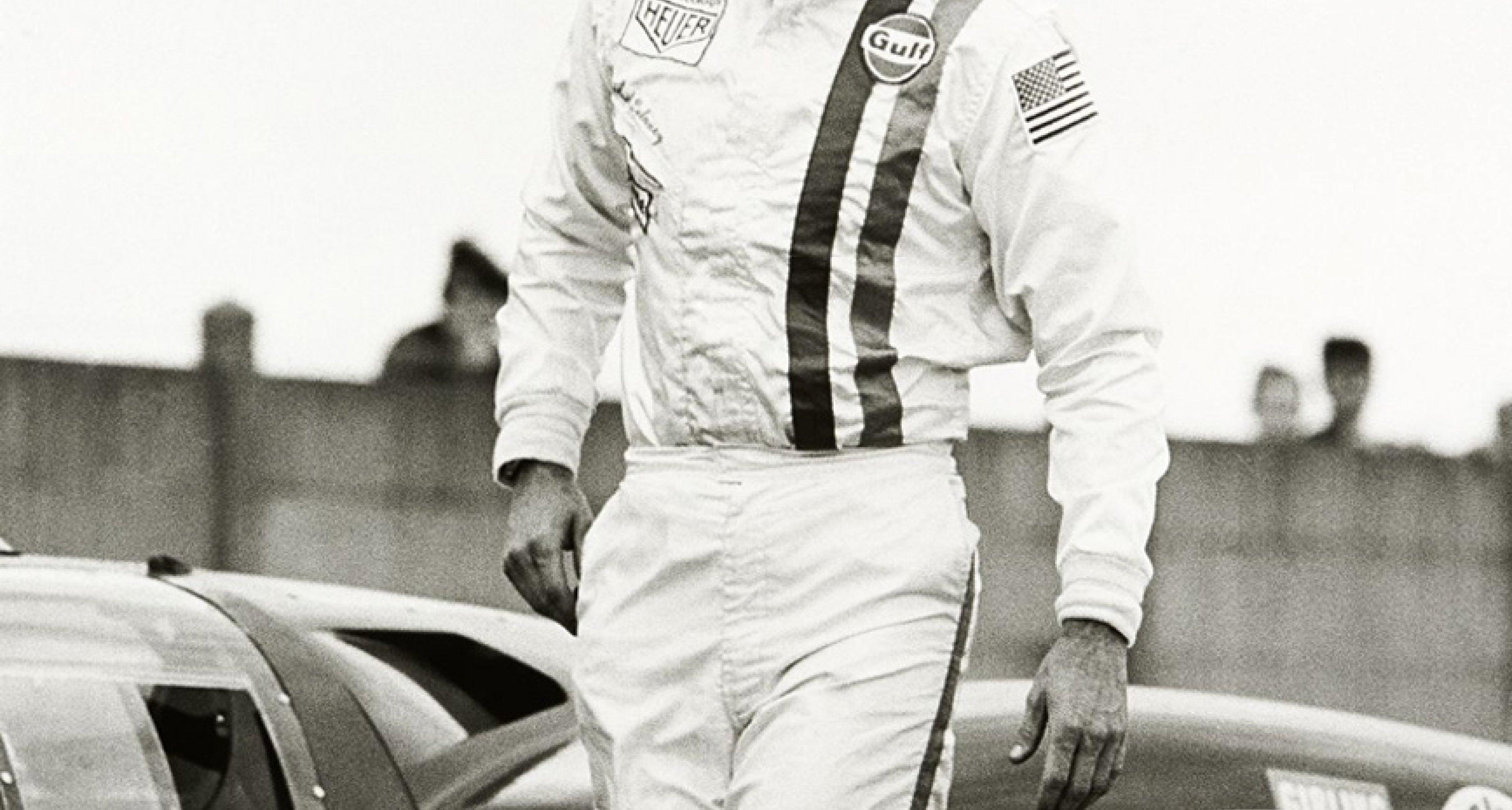 Steve Mcqueen memorabilia at Artcurial's 2014 Le Mans Classic auction