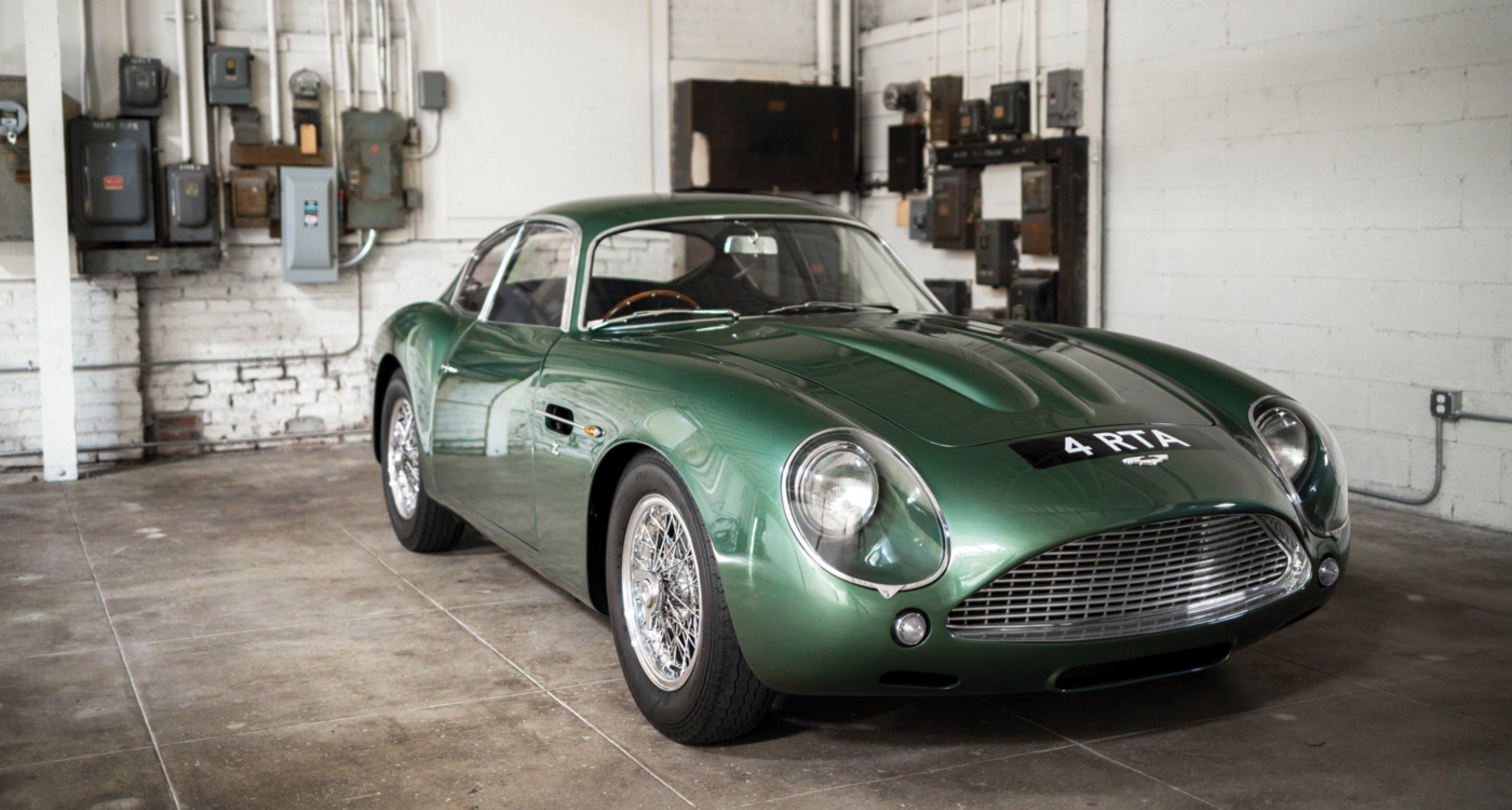Vom Aston Martin Db4gt Zagato Konnte Selbst James Bond Nur Träumen Classic Driver Magazine