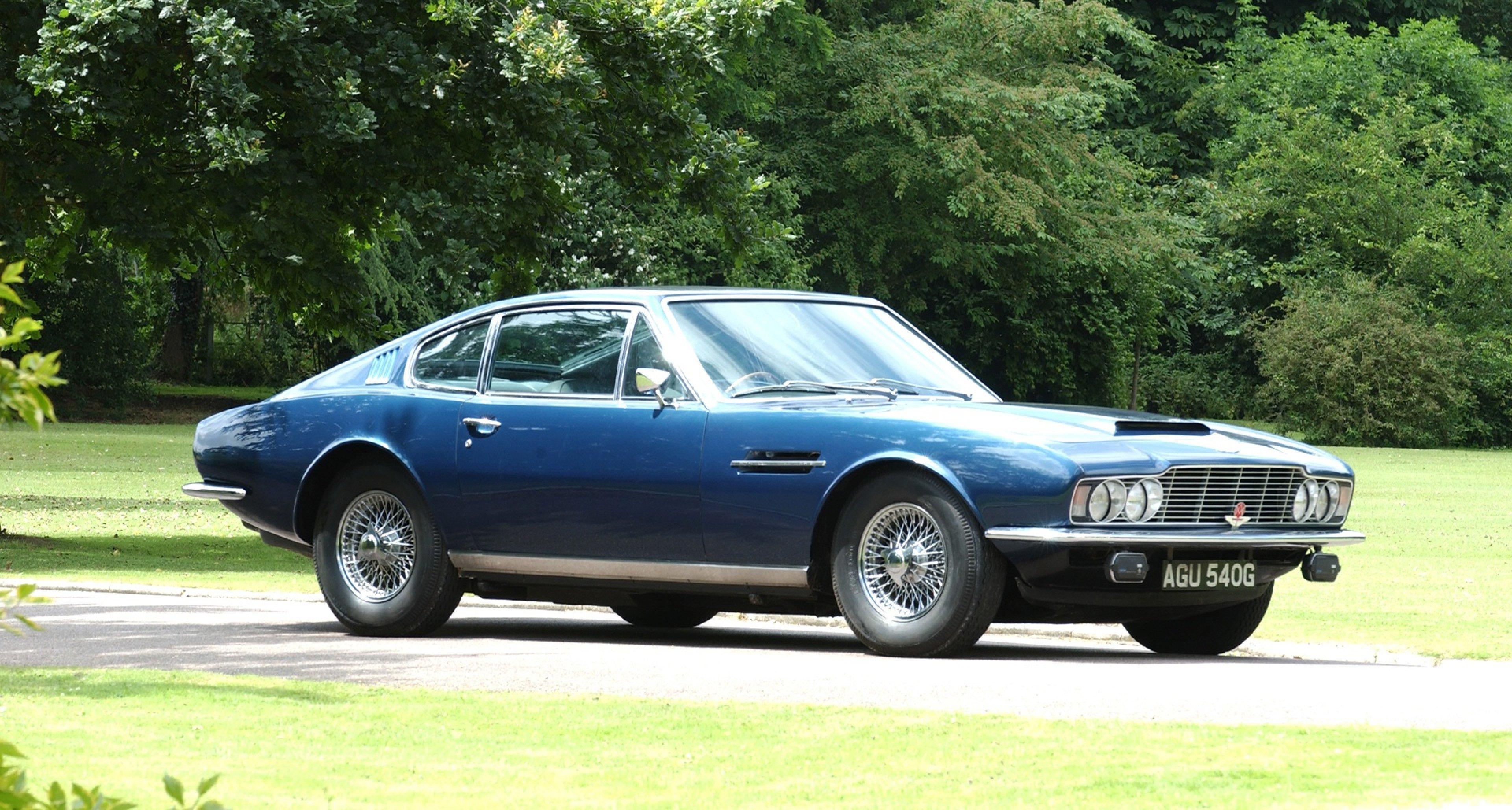 Seit 70 Jahren Fährt Aston Martin Im Zeichen Von David Brown Classic Driver Magazine