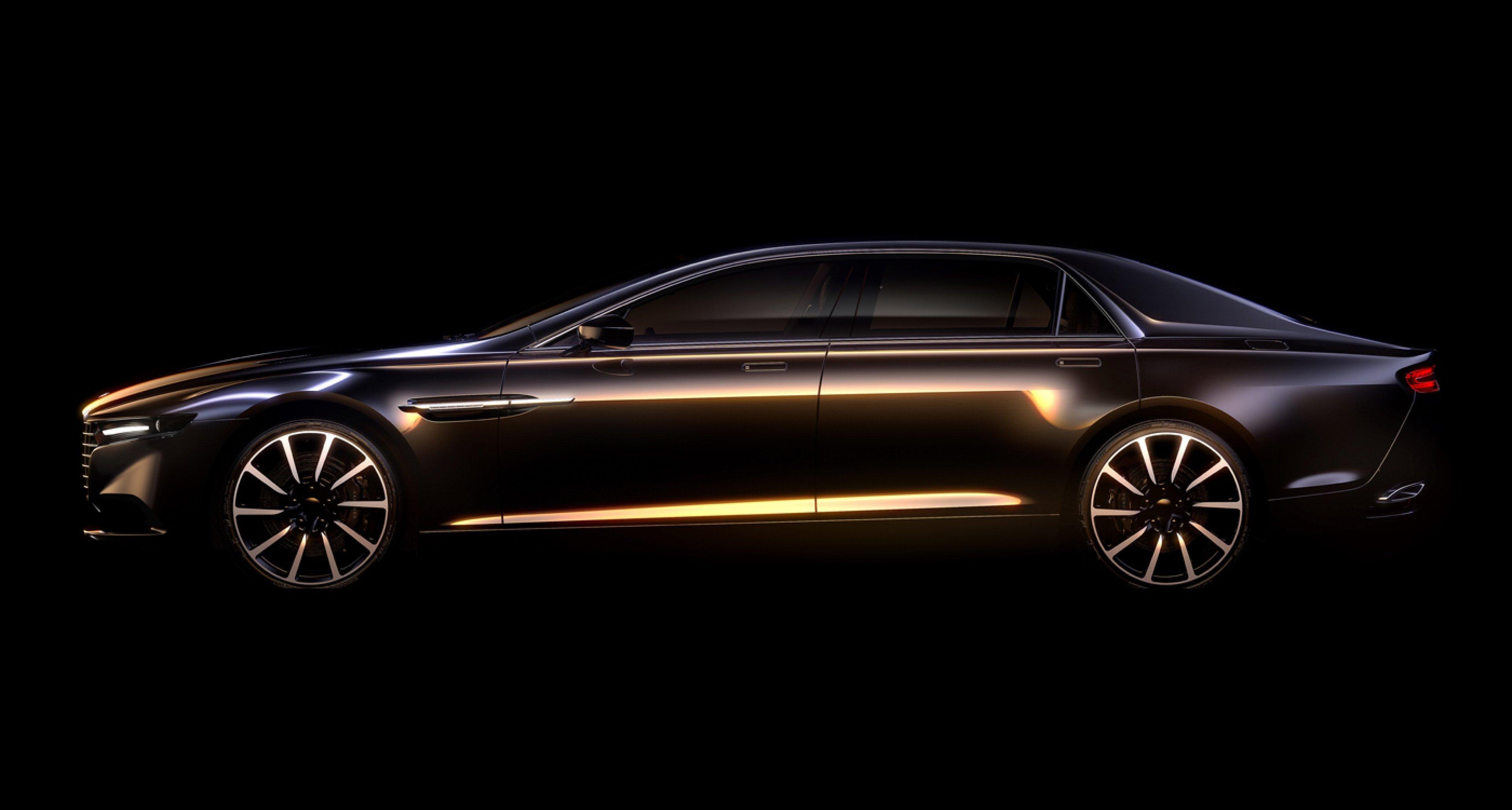 2015 Aston Martin Lagonda bespoke super saloon