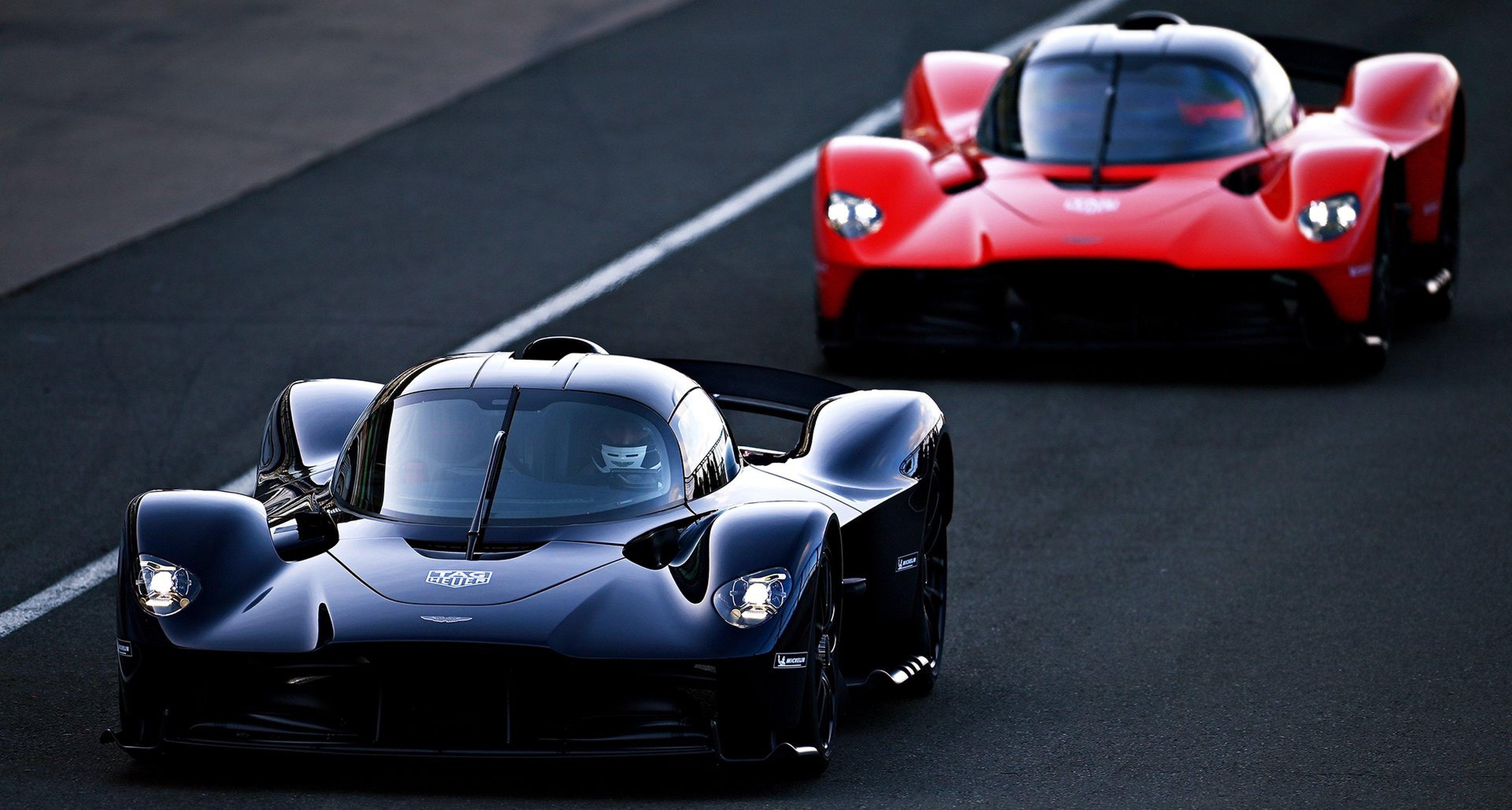 F1 Stars Durften Jetzt Erstmals Den Aston Martin Valkyrie Testen Classic Driver Magazine