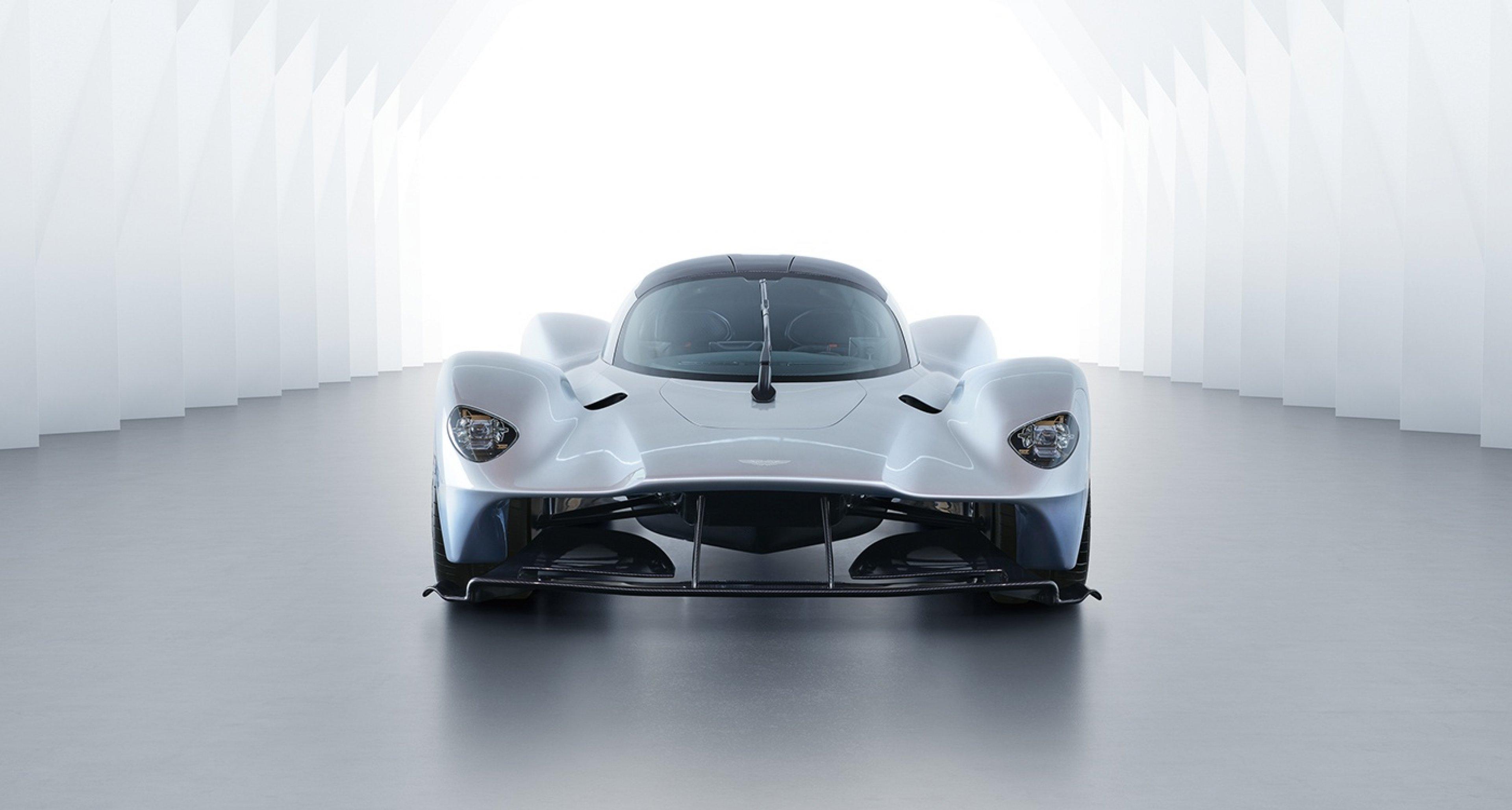 The Nearproduction Aston Martin Valkyrie Is Even Better Than The - Aston martin headlights