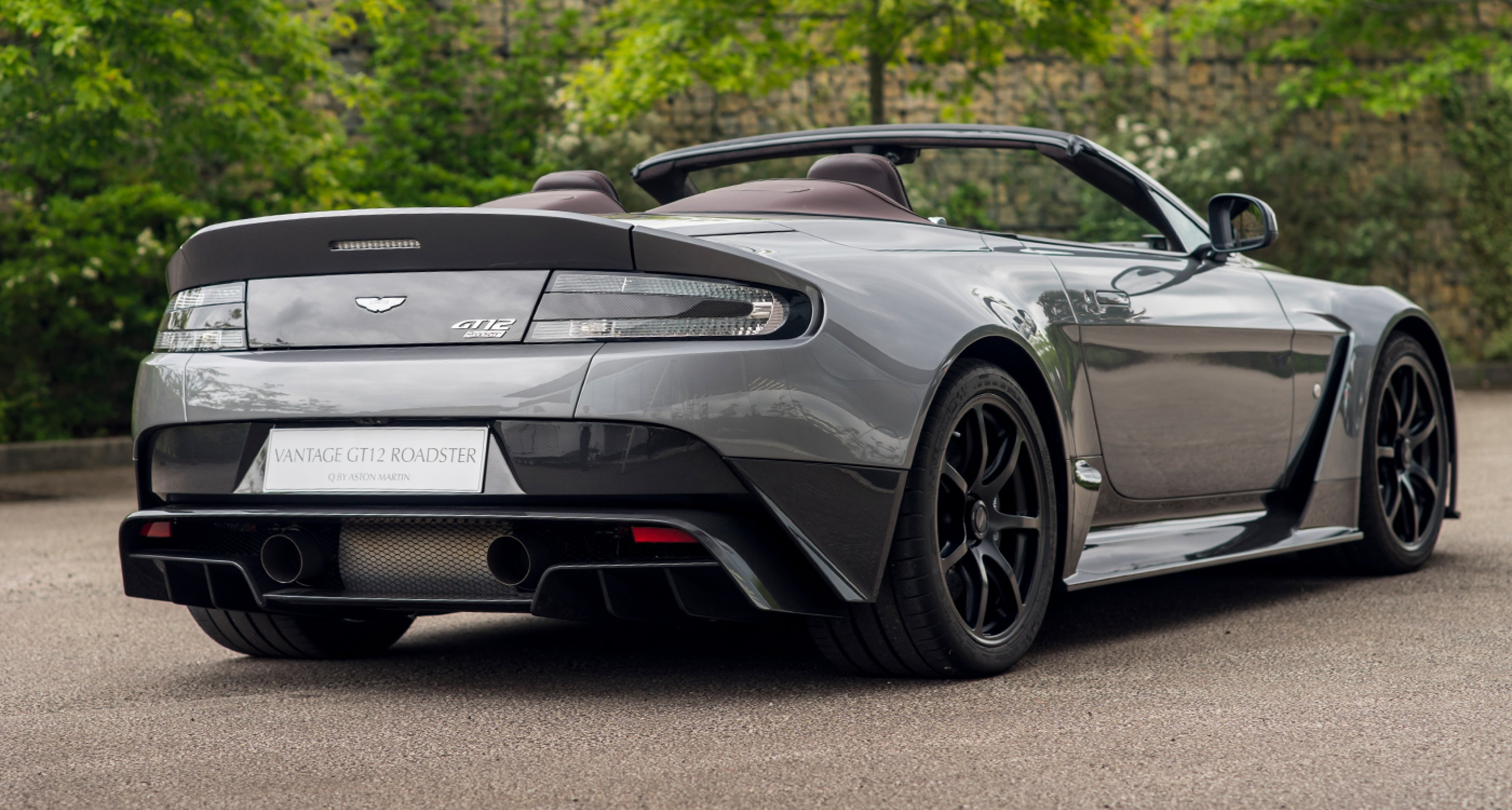 Aston Martin Lifts The Lid On The One Off Vantage Gt12 Roadster Classic Driver Magazine