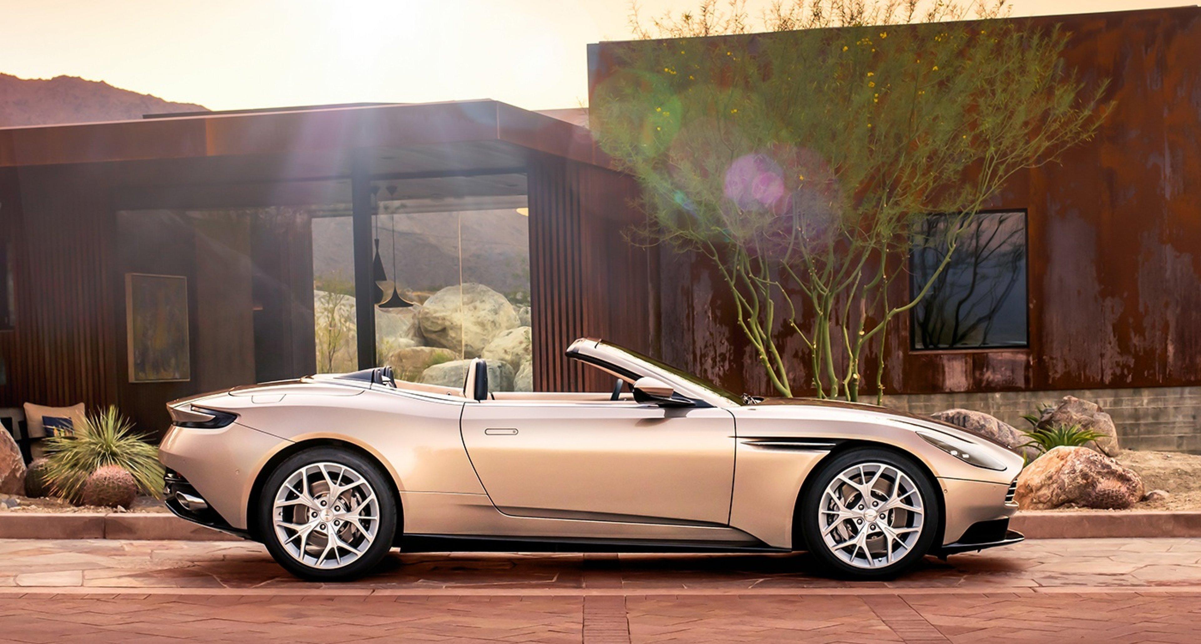 Der Aston Martin Db 11 Volante Ist Nur Ein V8 Doch Wir Wollen Einen Classic Driver Magazine