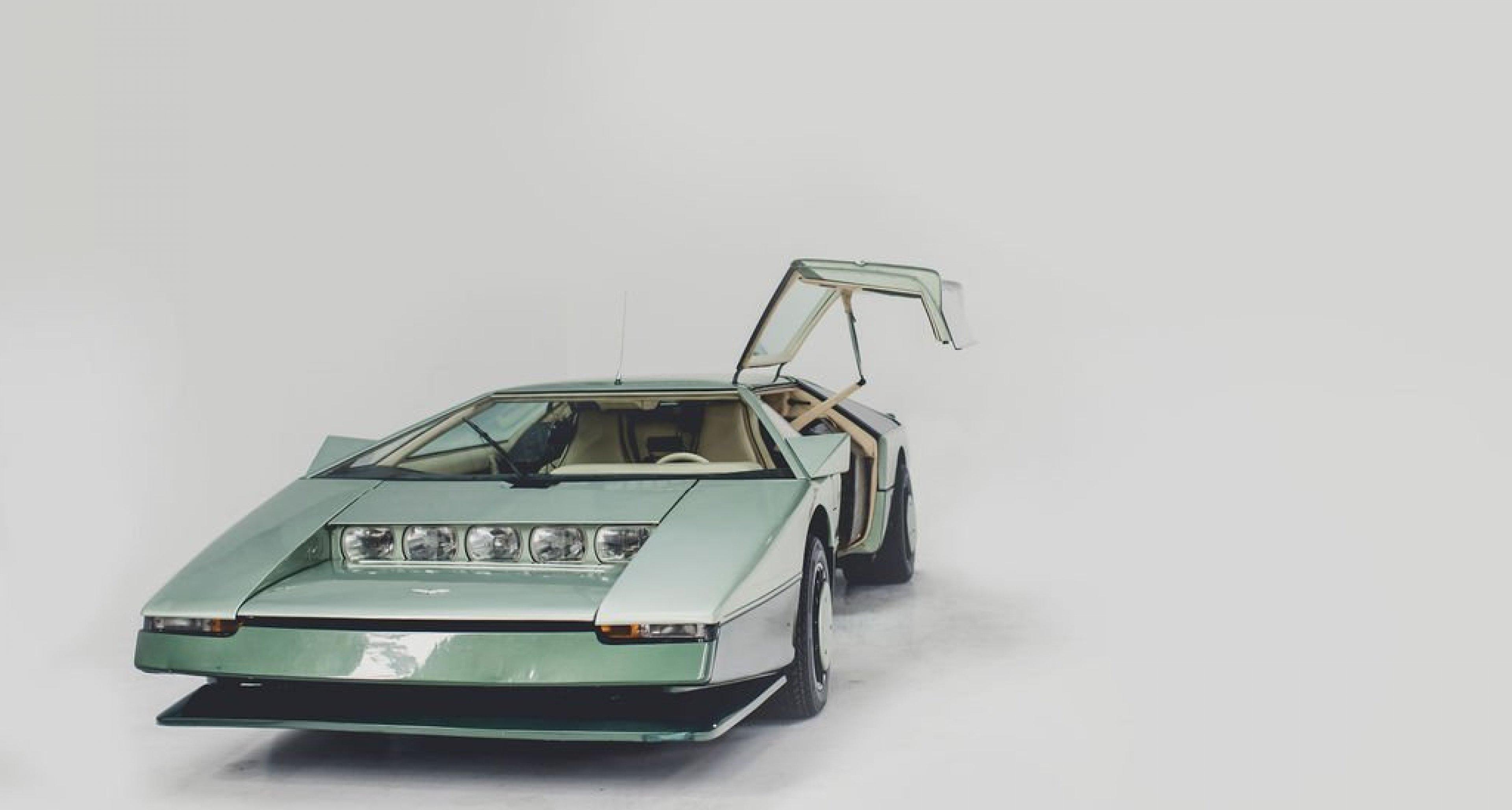 Back To The Future At 200 Mph With The Aston Martin Bulldog Classic Driver Magazine