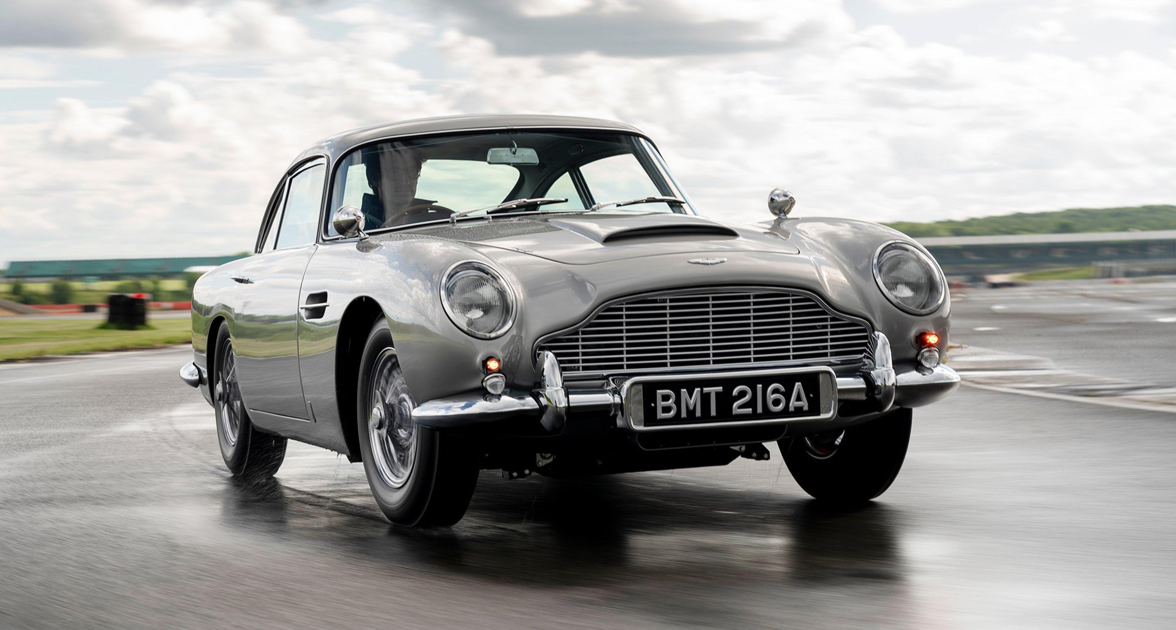 Der Erste Aston Martin Db5 Goldfinger Werksneubau Ist Fertig Classic Driver Magazine