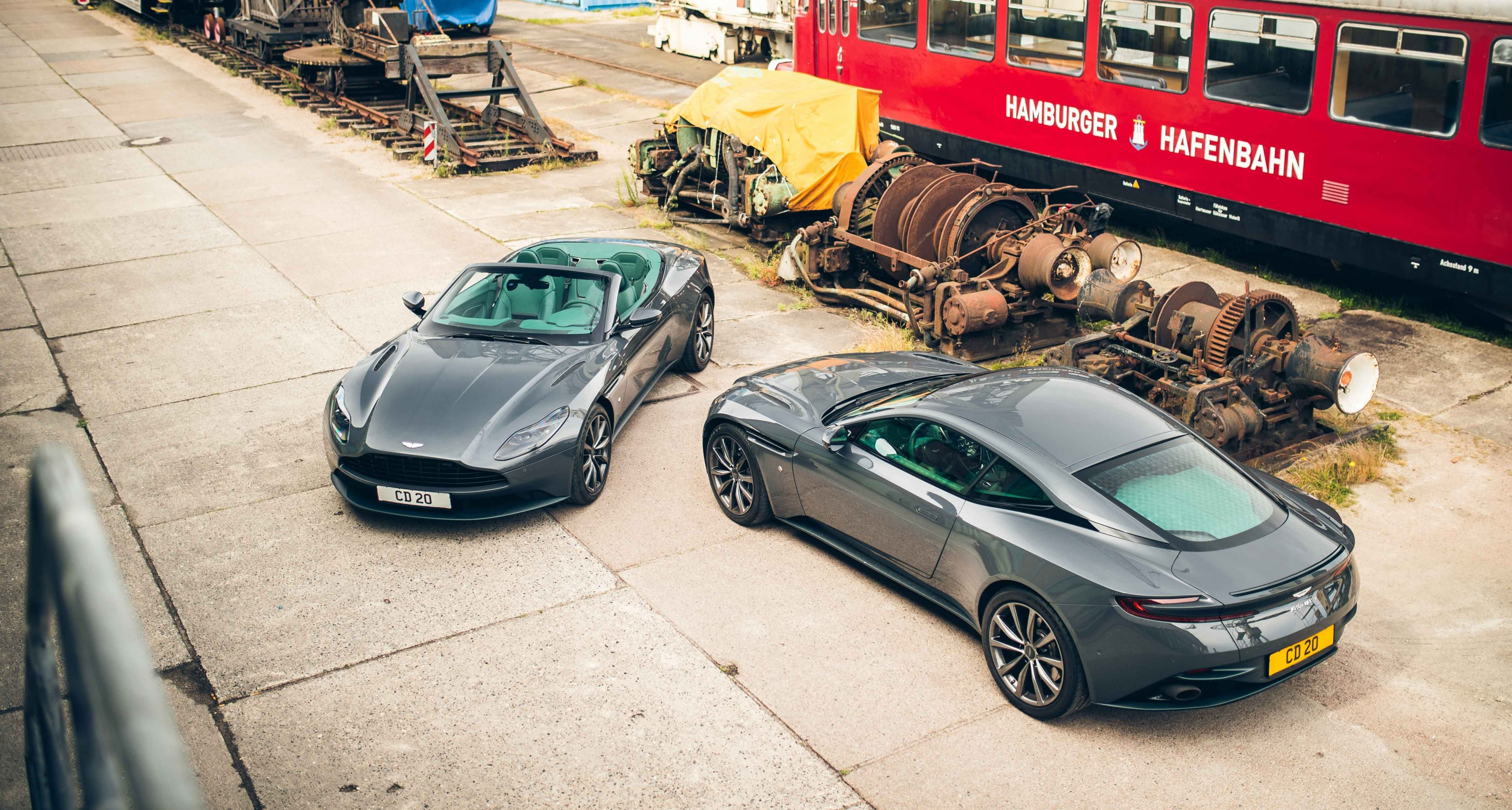 Go Grey And Green With Classic Driver S Aston Martin Db11 Volante Classic Driver Magazine