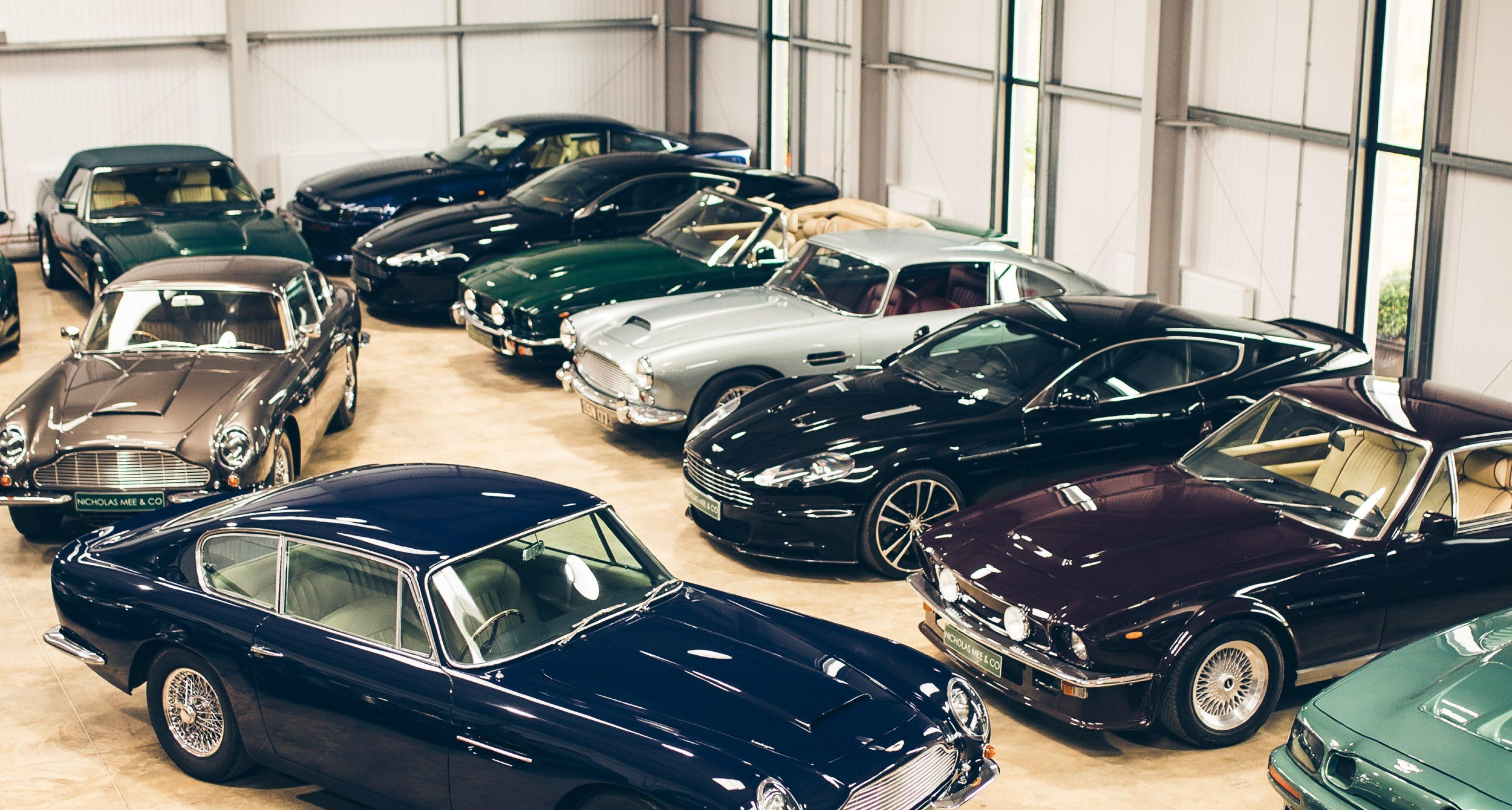 Nicholas Mee Co Has Created A Mecca For Aston Martin Maniacs Classic Driver Magazine