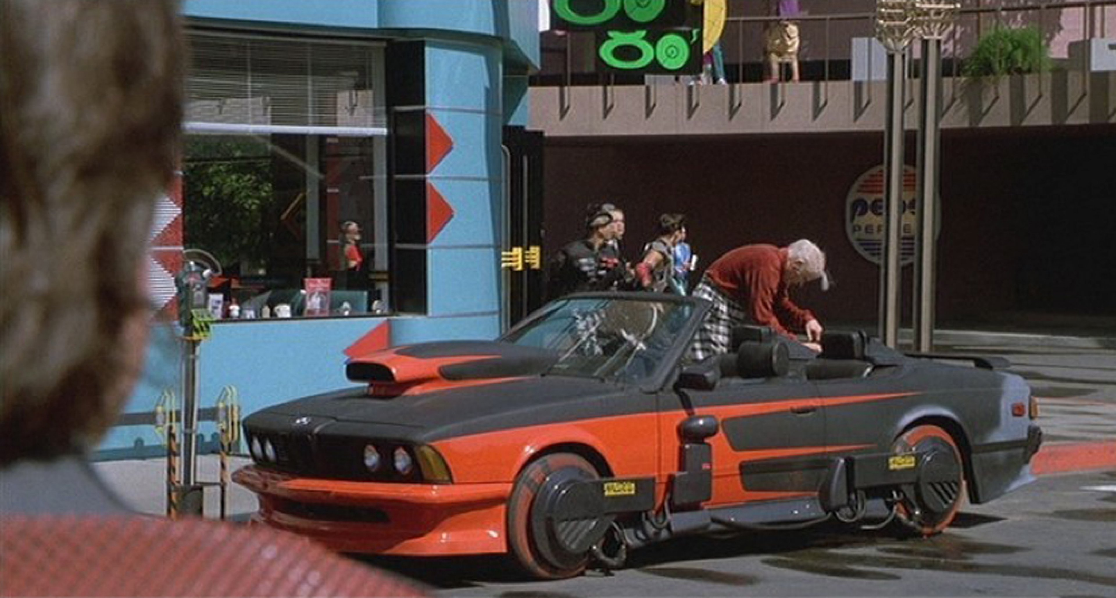 We almost forgot about this BMW from 'Back to the Future