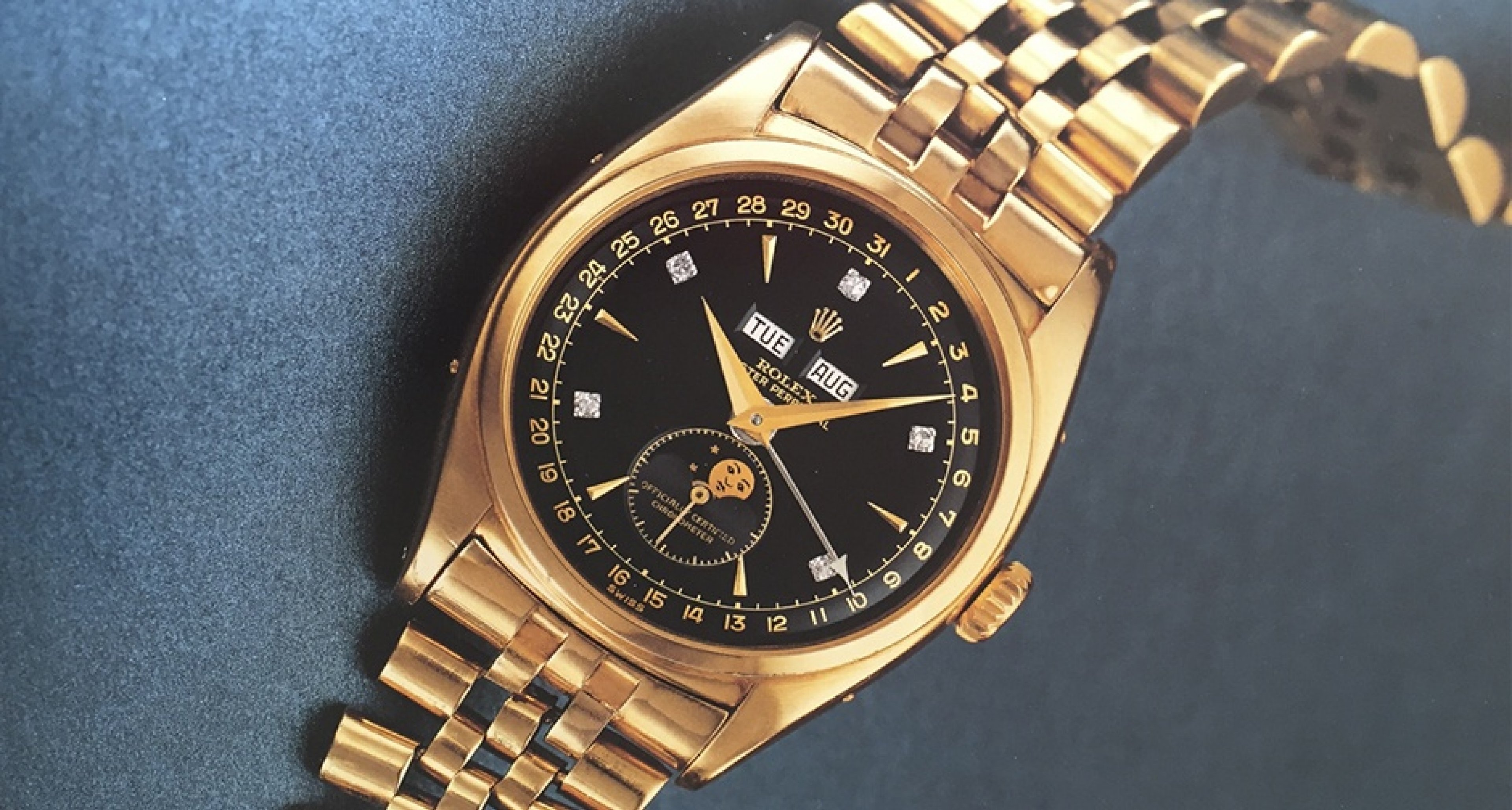 phillips to auction off vietnamese emperor s rolex for over 1 5 million usd classic driver. Black Bedroom Furniture Sets. Home Design Ideas