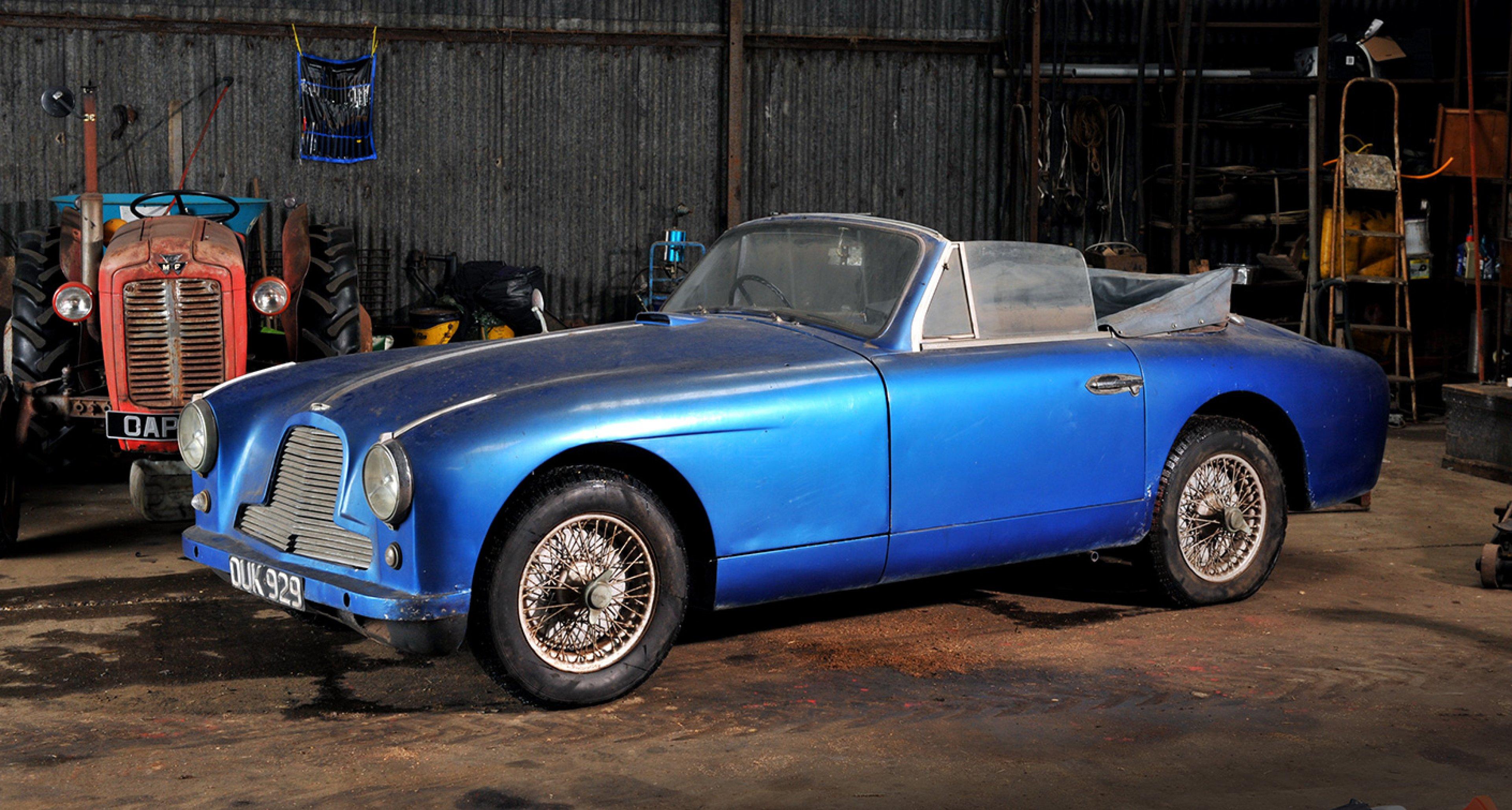 Aston Martin DB2/4 DHC, sold by Bonhams in 2012 for £113,500