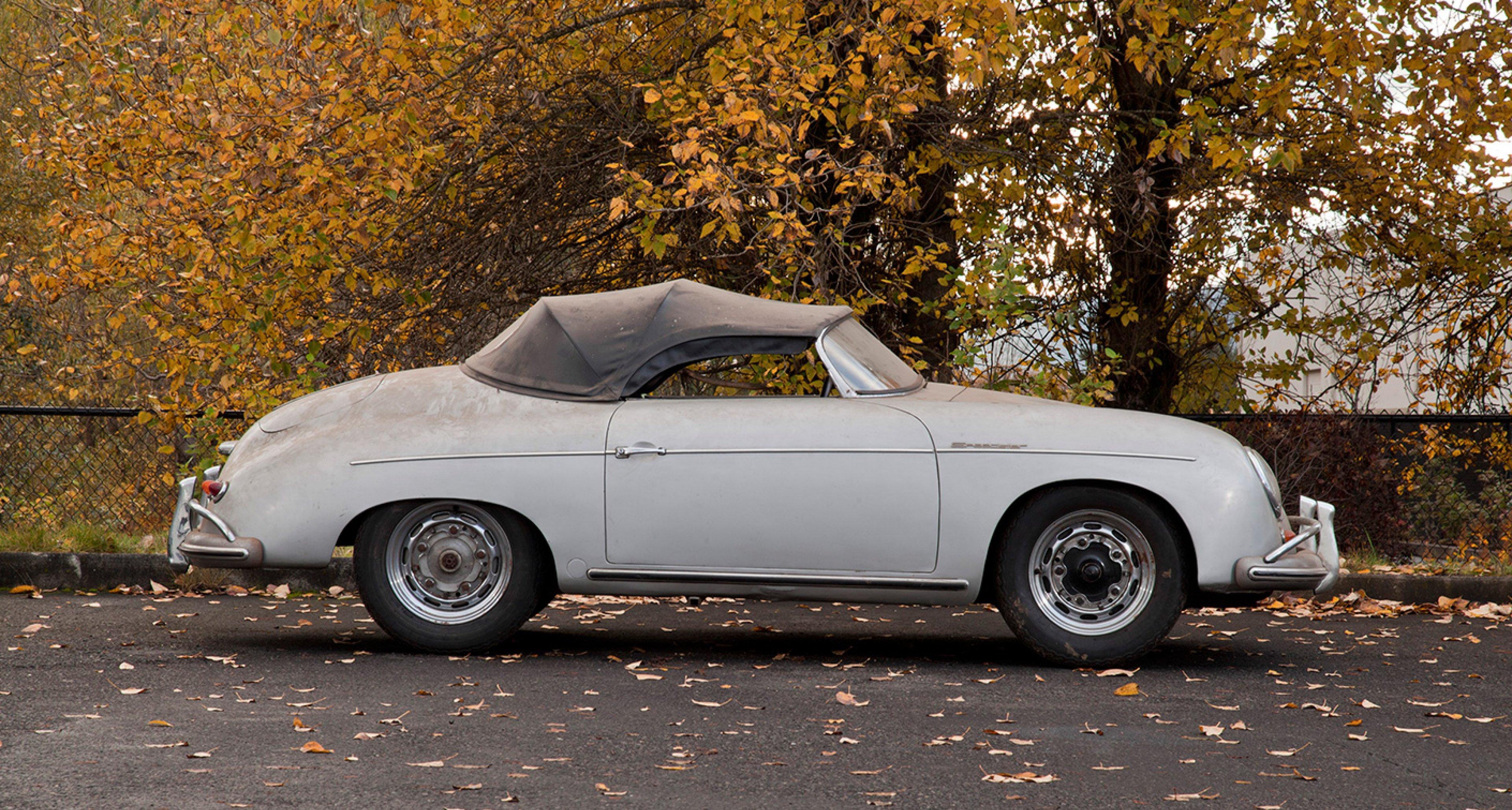 1955 Porsche 356A Speedster sold by Bonhams in 2012 for $100,620