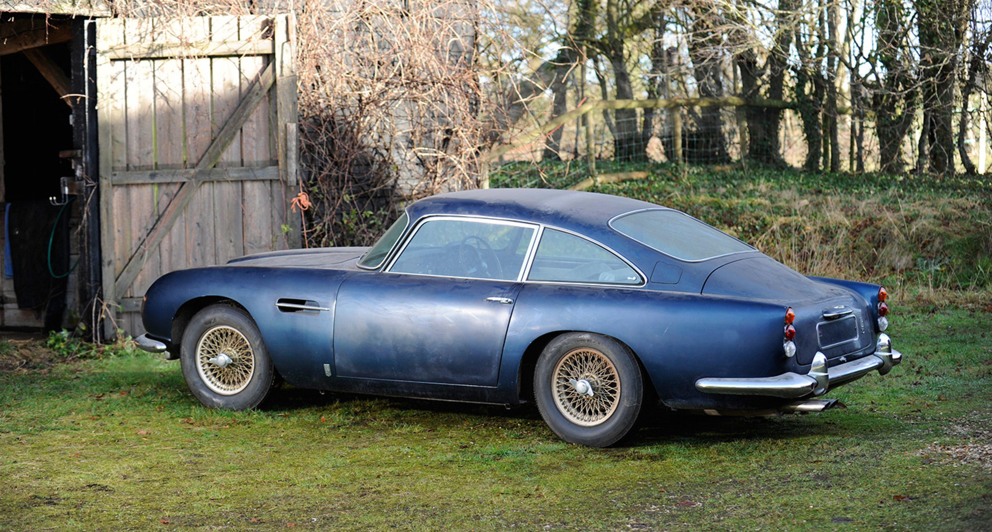 1964 Aston Martin DB5 Sports Saloon sold by Bonhams in 2013 for £320,700