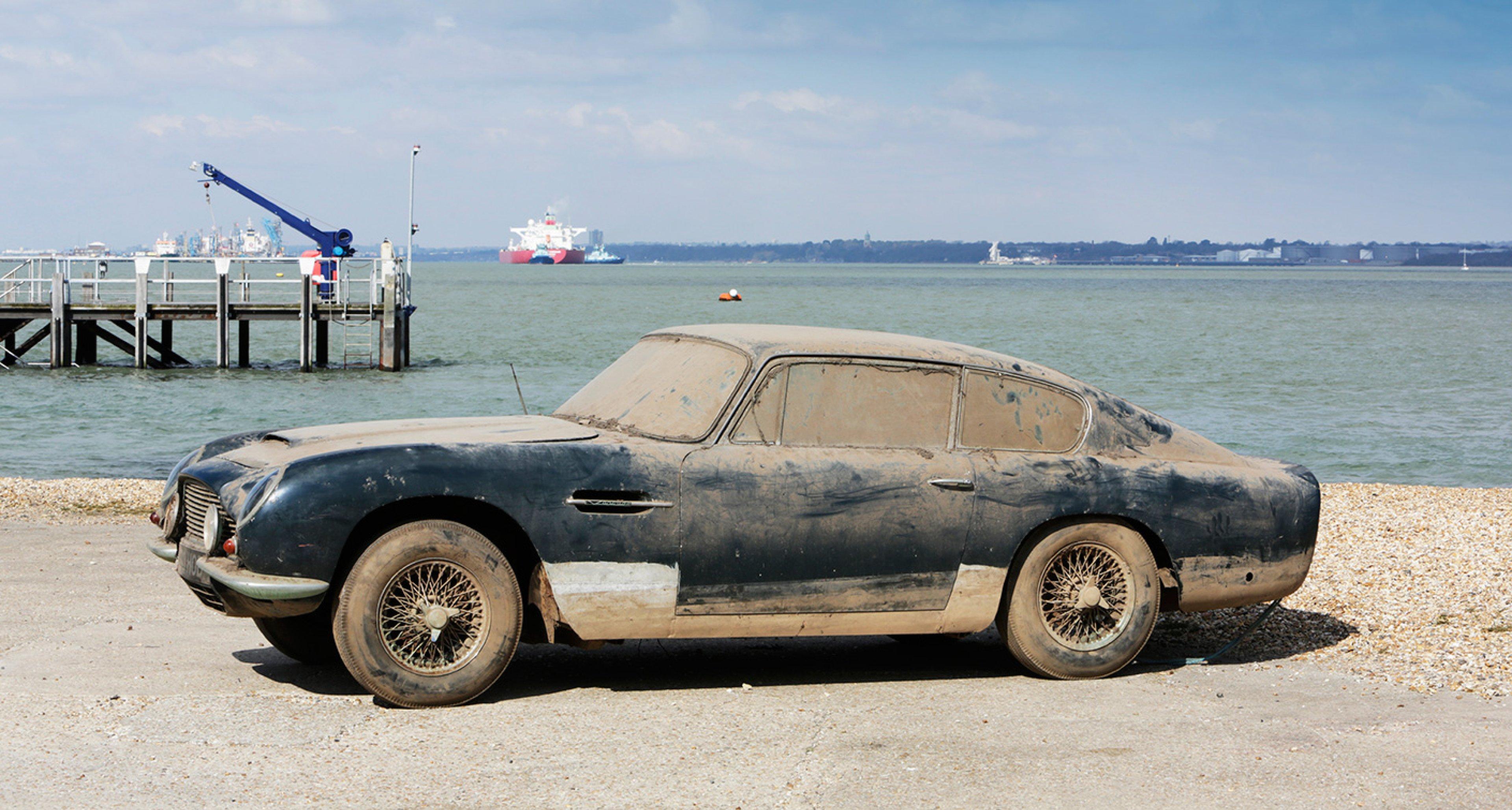 1966 Aston Martin DB6 Vantage sold by Bonhams in 2013 for £107,900