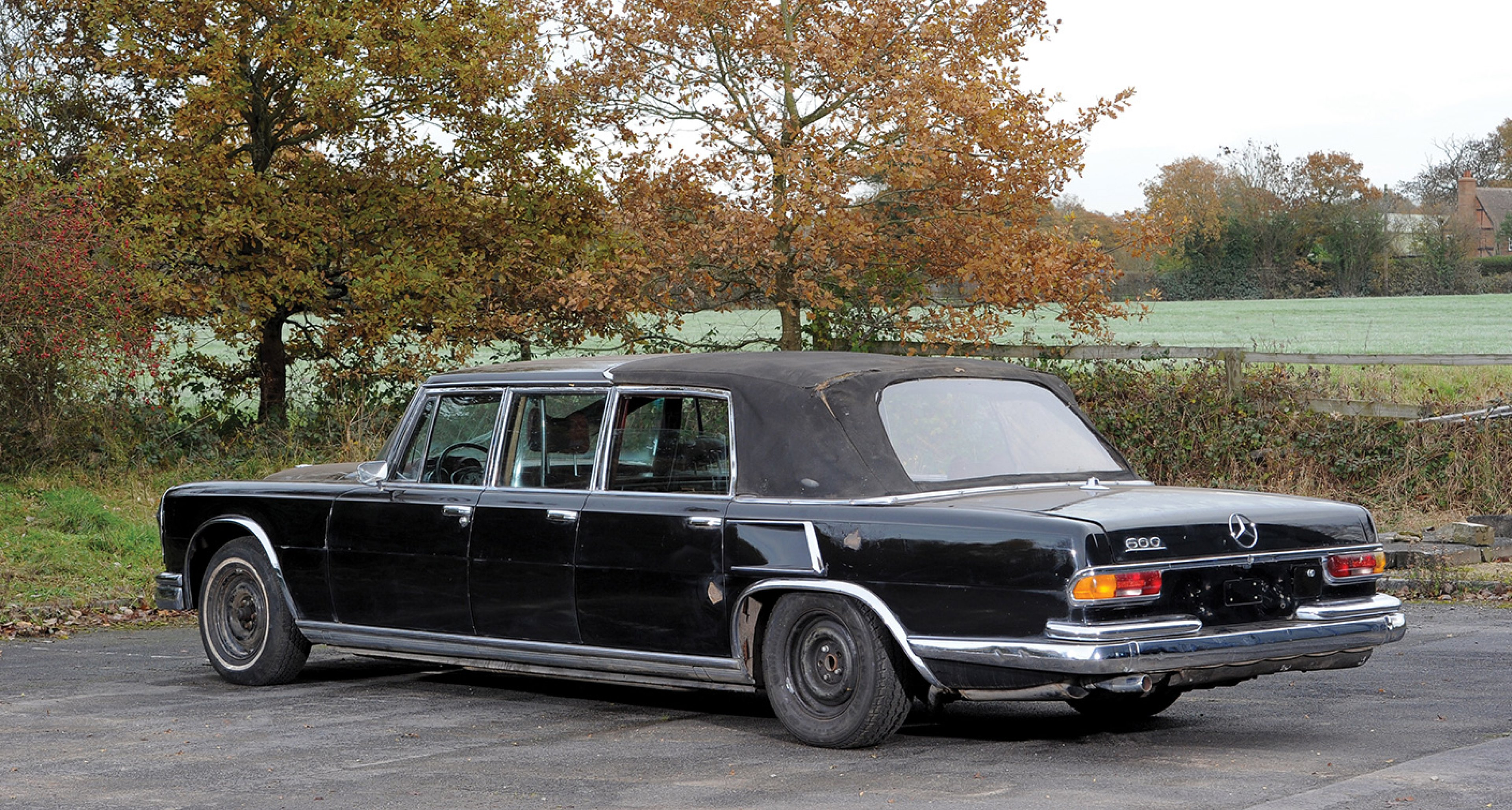 1971 Mercedes-Benz 600 'Six-Door' Pullman Landaulet sold by RM in February 2014 for €537,600