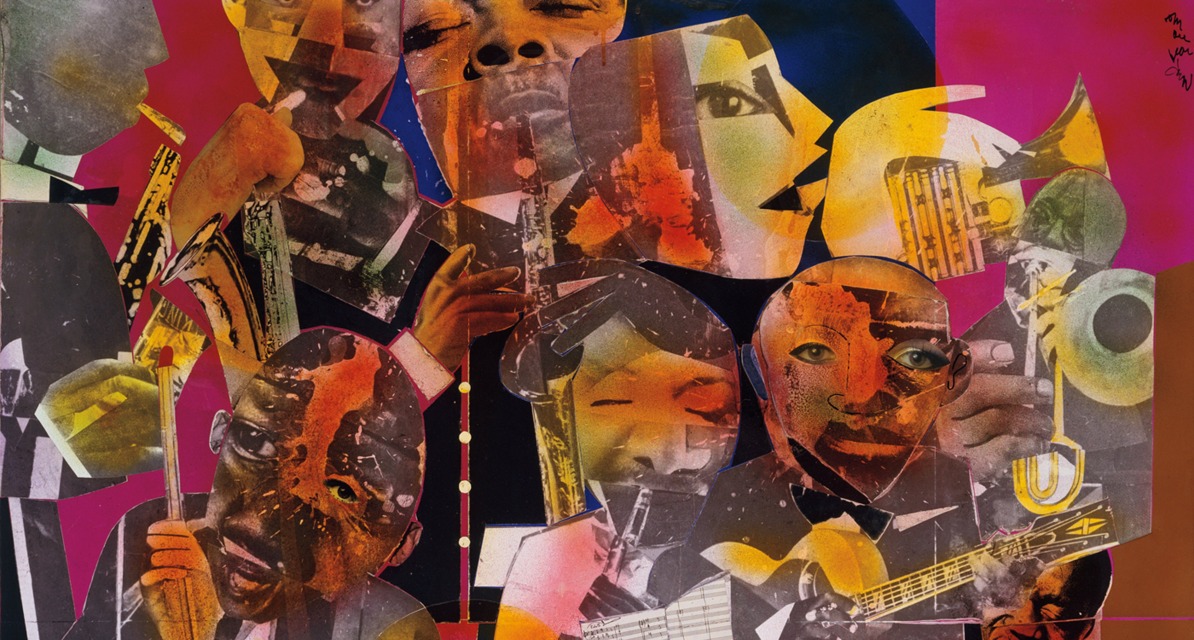 Romare Bearden, The Savoy, 1975