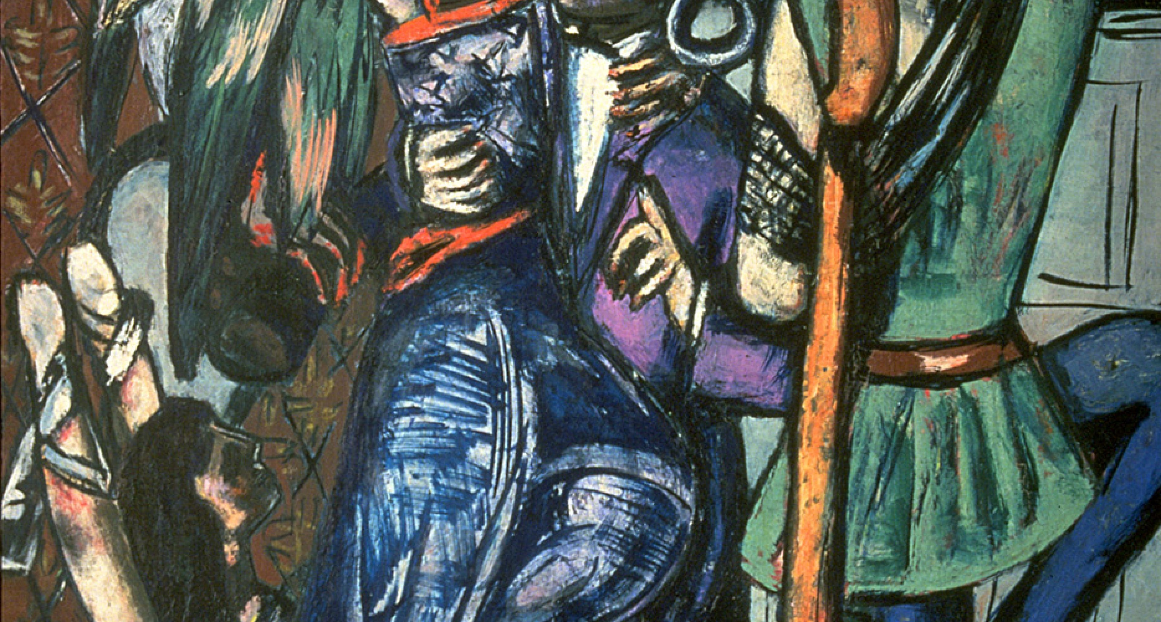 Max Beckmann, Begin the Beguine, 1946