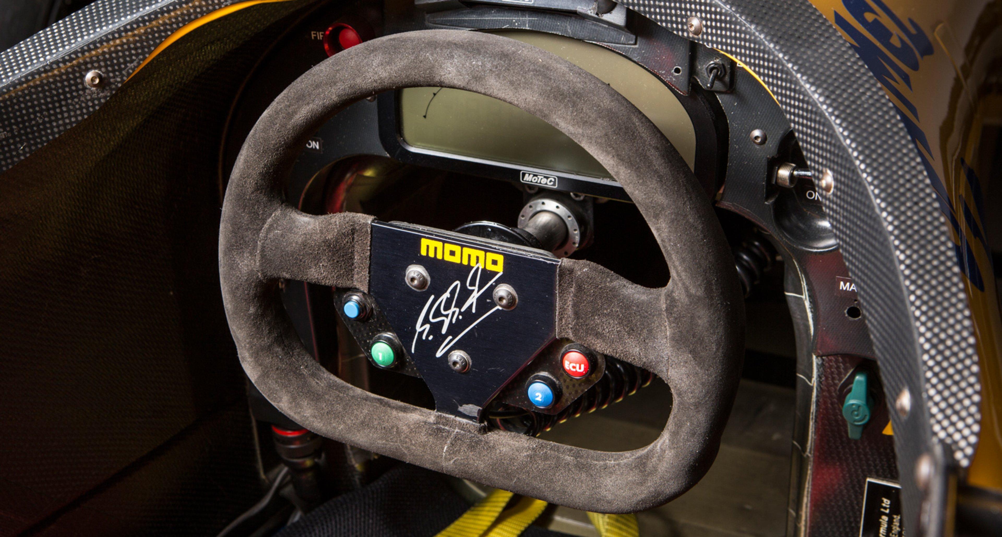 Michael Schumacher's Ex-Benetton-Ford B191