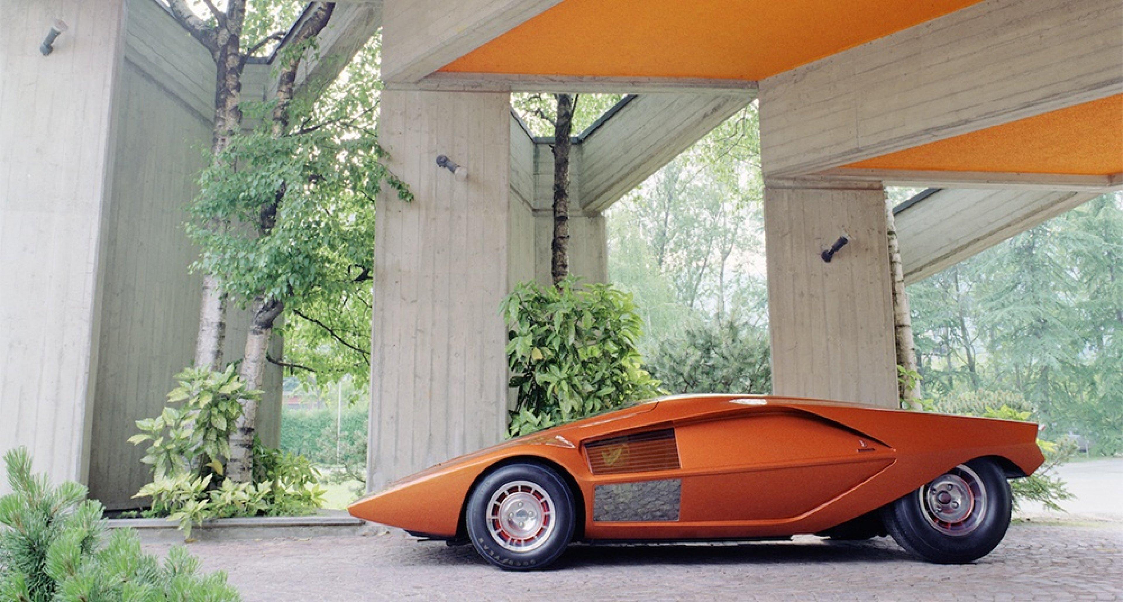 Lancia Stratos Zero. Photo by Benedict Redgrove.
